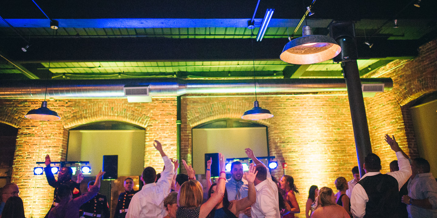 NH Wedding Photography: reception at Rivermill at Dover Landing