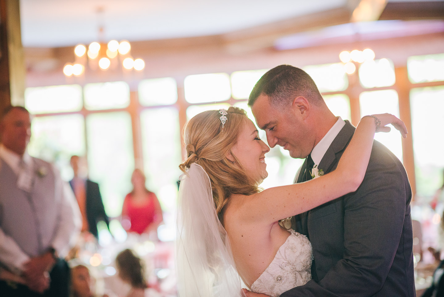 NH Wedding Photography: first dance as newlyweds at BVI