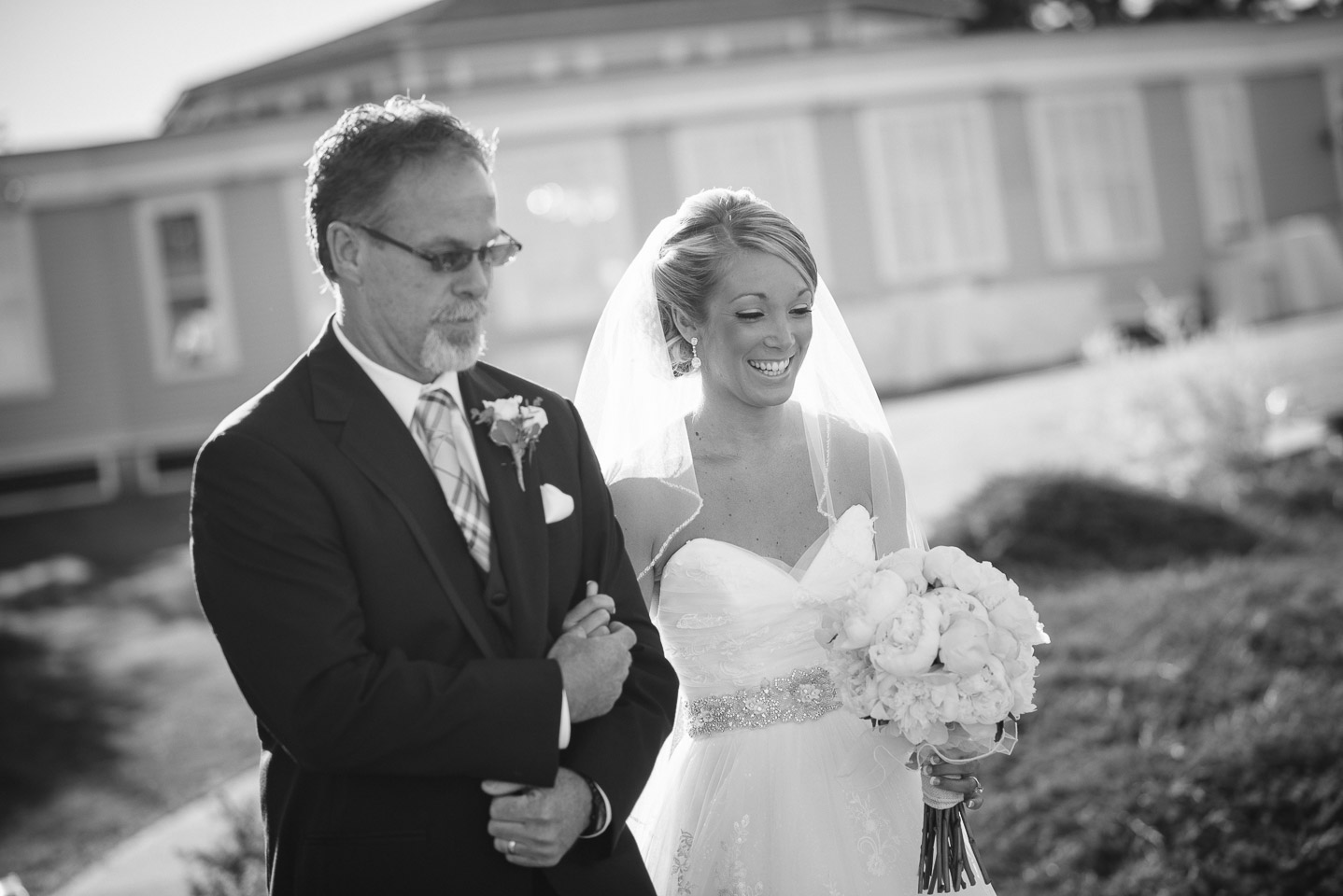 NH Wedding Photography: processional