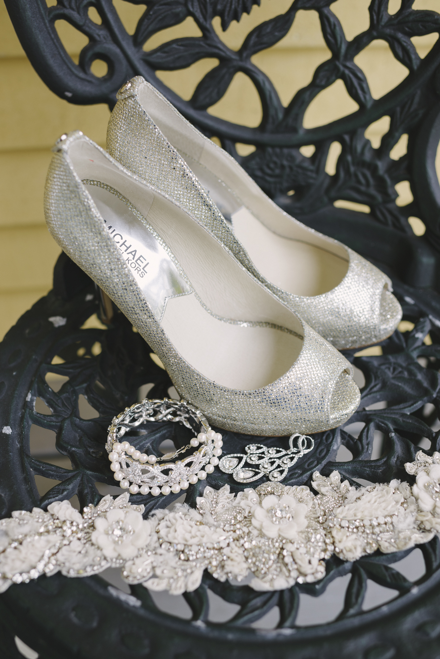 NH Wedding Photographer: Bedford Village Inn shoes and details