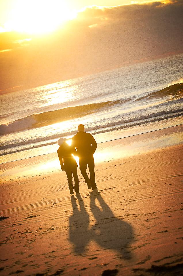 NH Wedding Photographer: sunrise on Wallis Sands