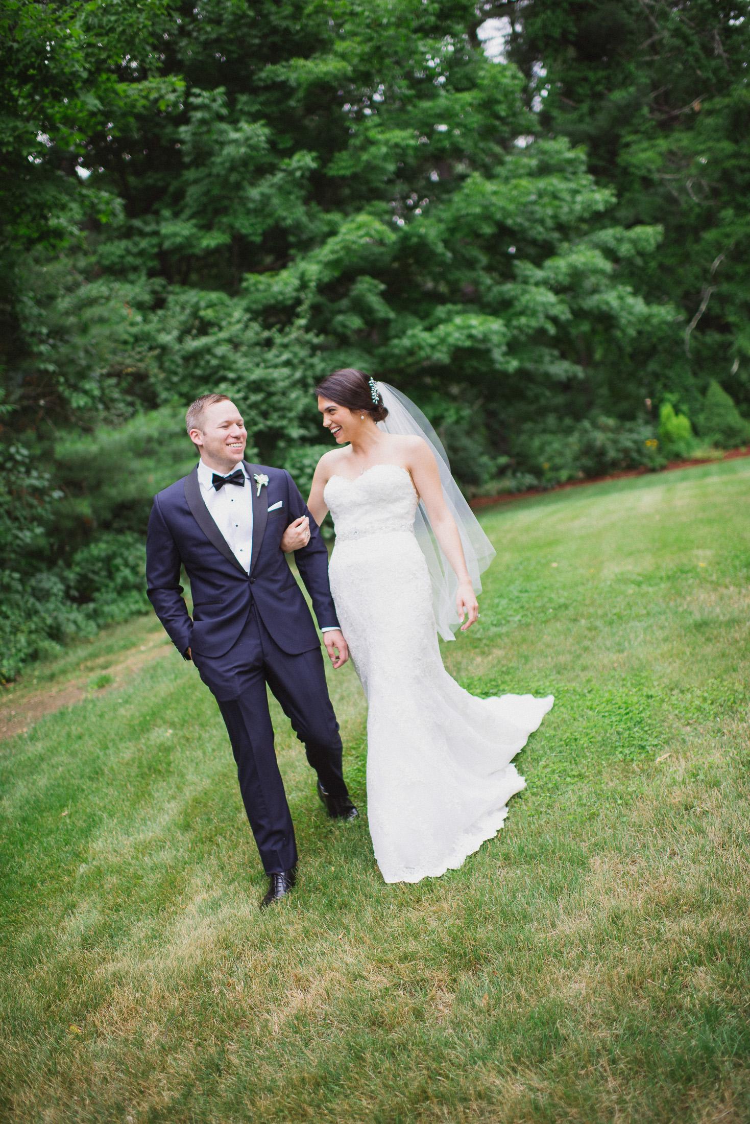 NH Wedding Photographer: walking together at BVI