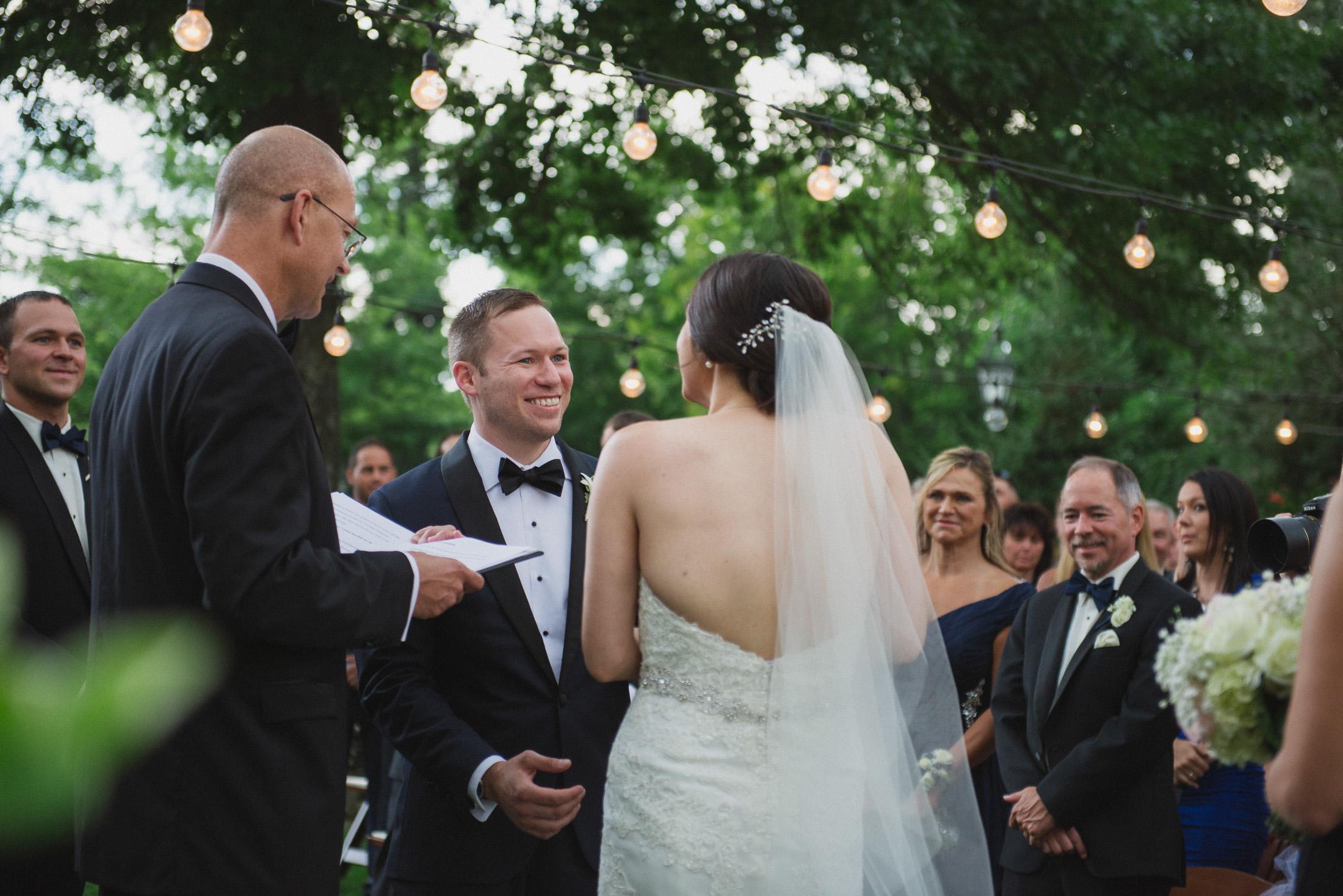 NH Wedding Photographer: ceremony at BVI