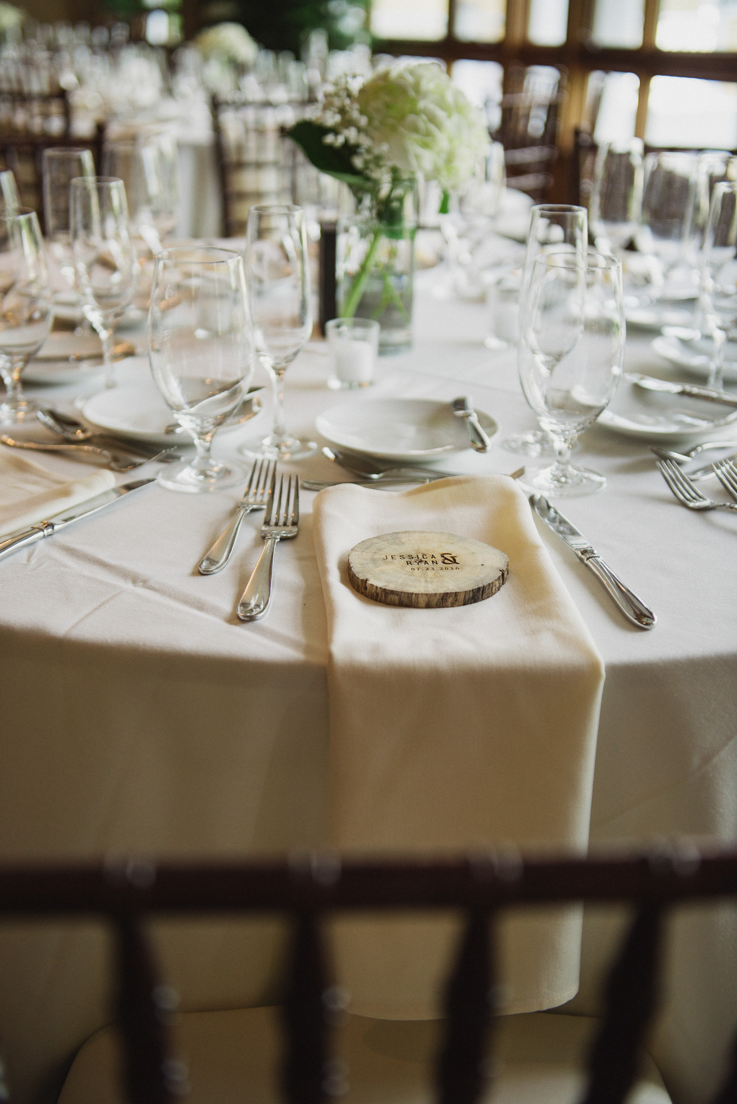 NH Wedding Photographer: table details