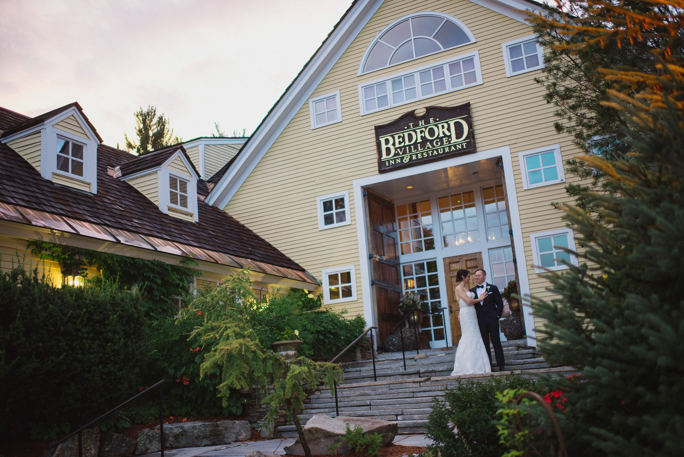 NH Wedding Photographer: on steps of BVI