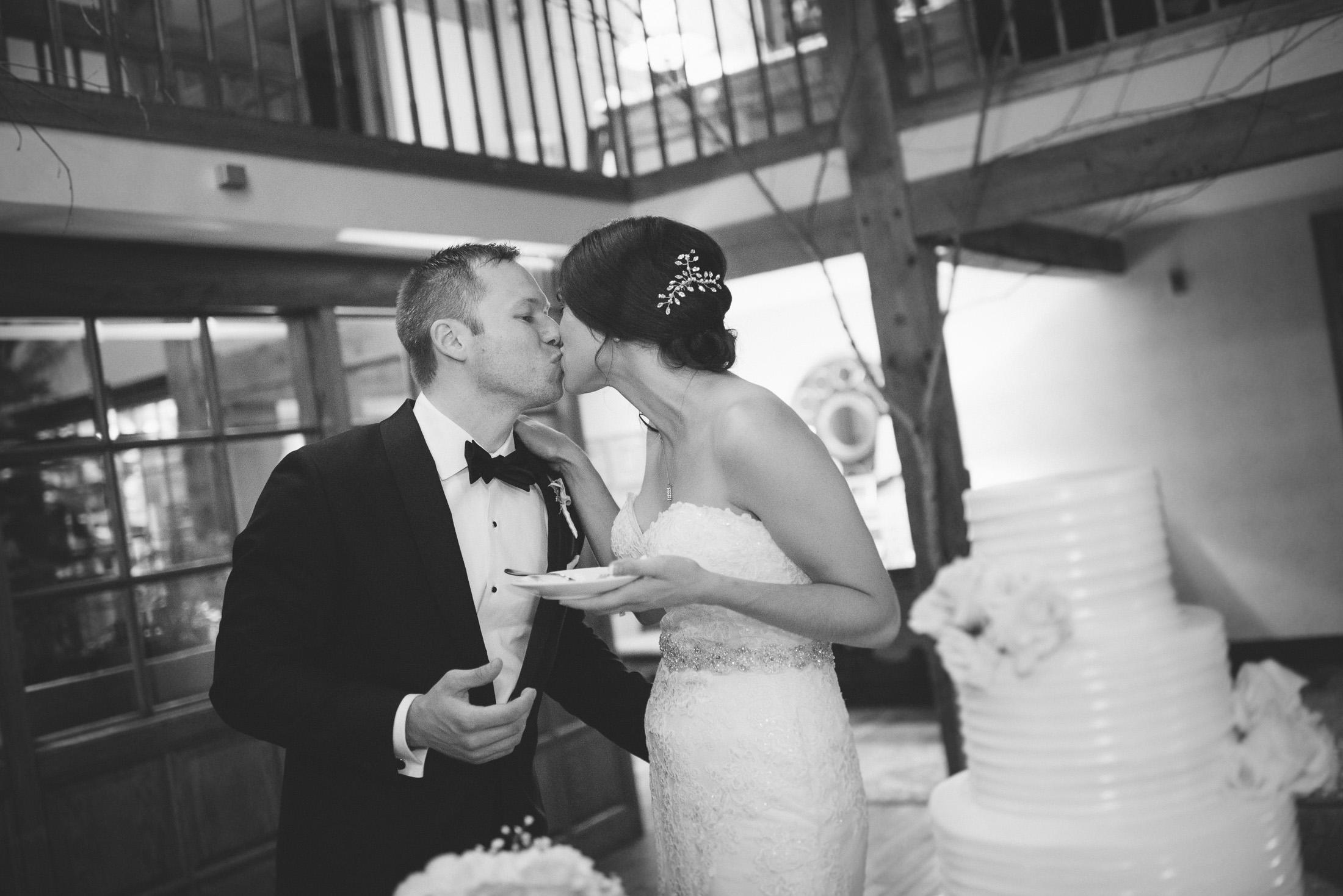 NH Wedding Photographer: reception bride and groom