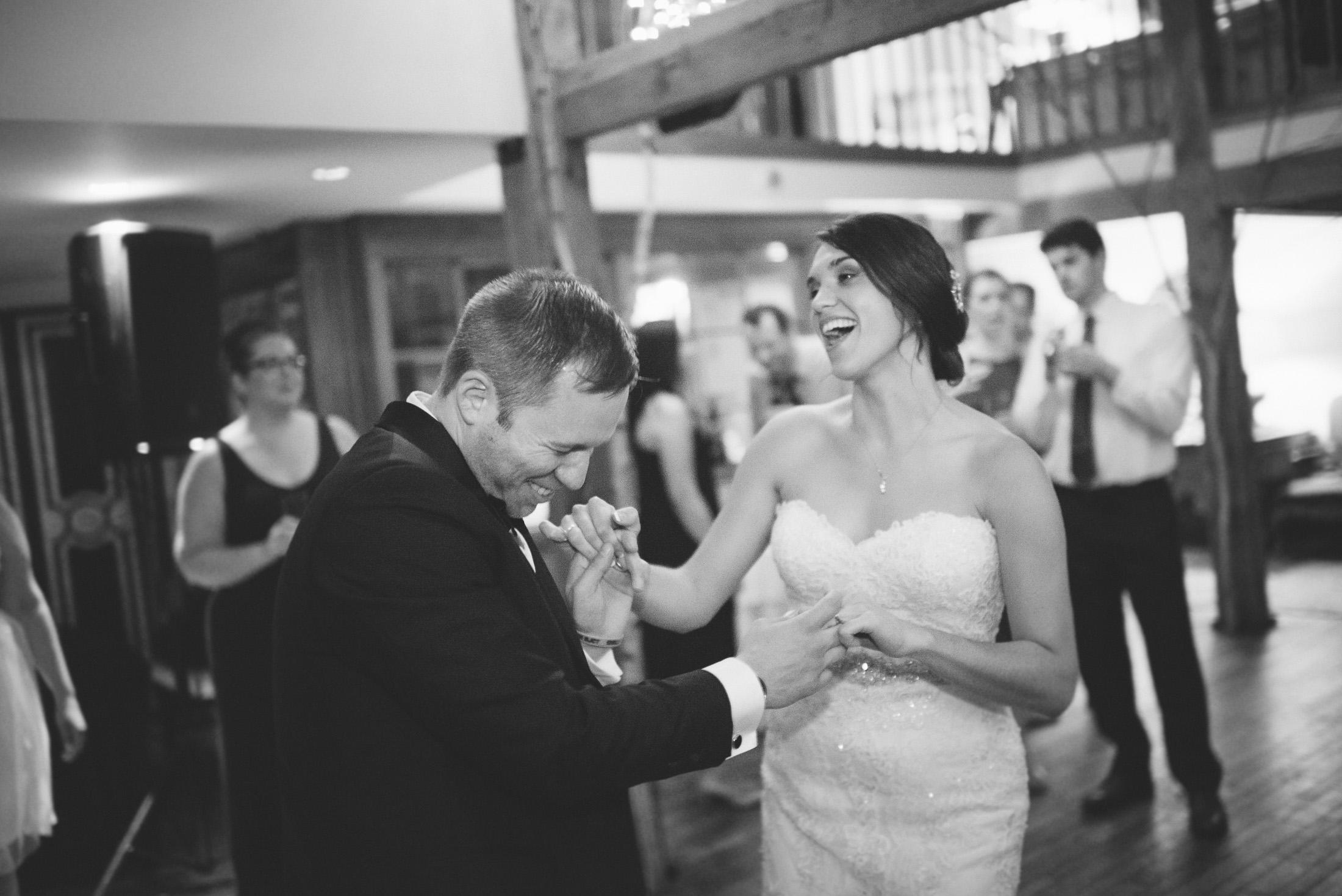 NH Wedding Photographer: BVI reception dancing