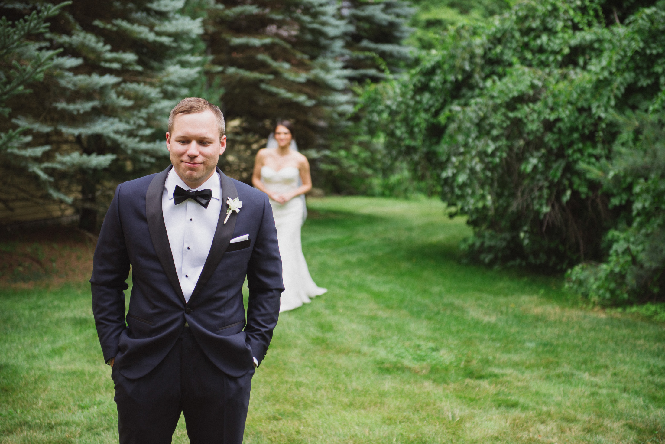 NH Wedding Photography: first look