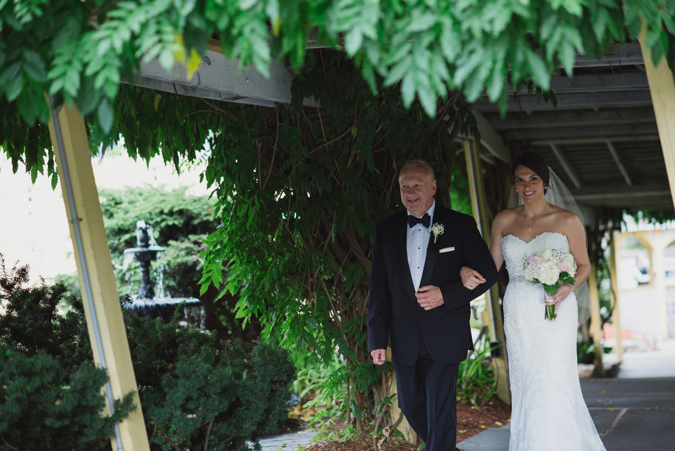 NH Wedding Photography: Bedford processional