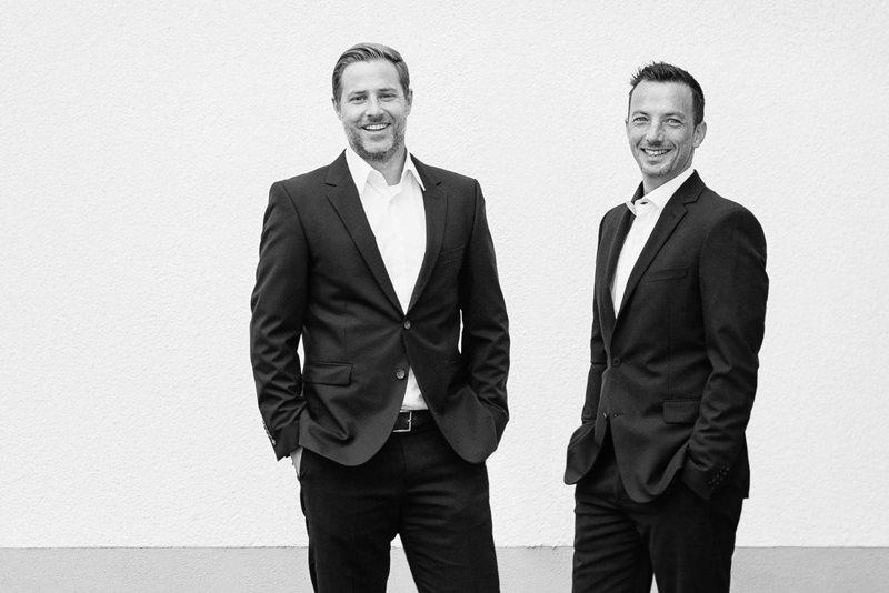 Die Geschäftsführer: Andreas Weinig & Niels Bundrock