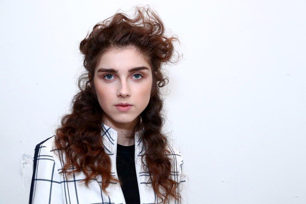 Jonathan Simkhai: Windy Curly Hair