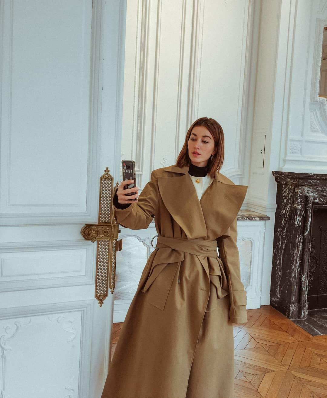 Huge deconstructed coat