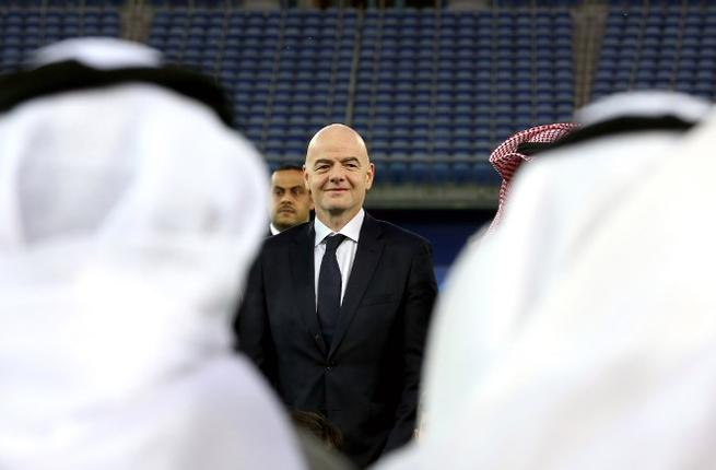 A successful tournament, ambivalent consequences. Infantino in Kuwait (Albawaba Sport)