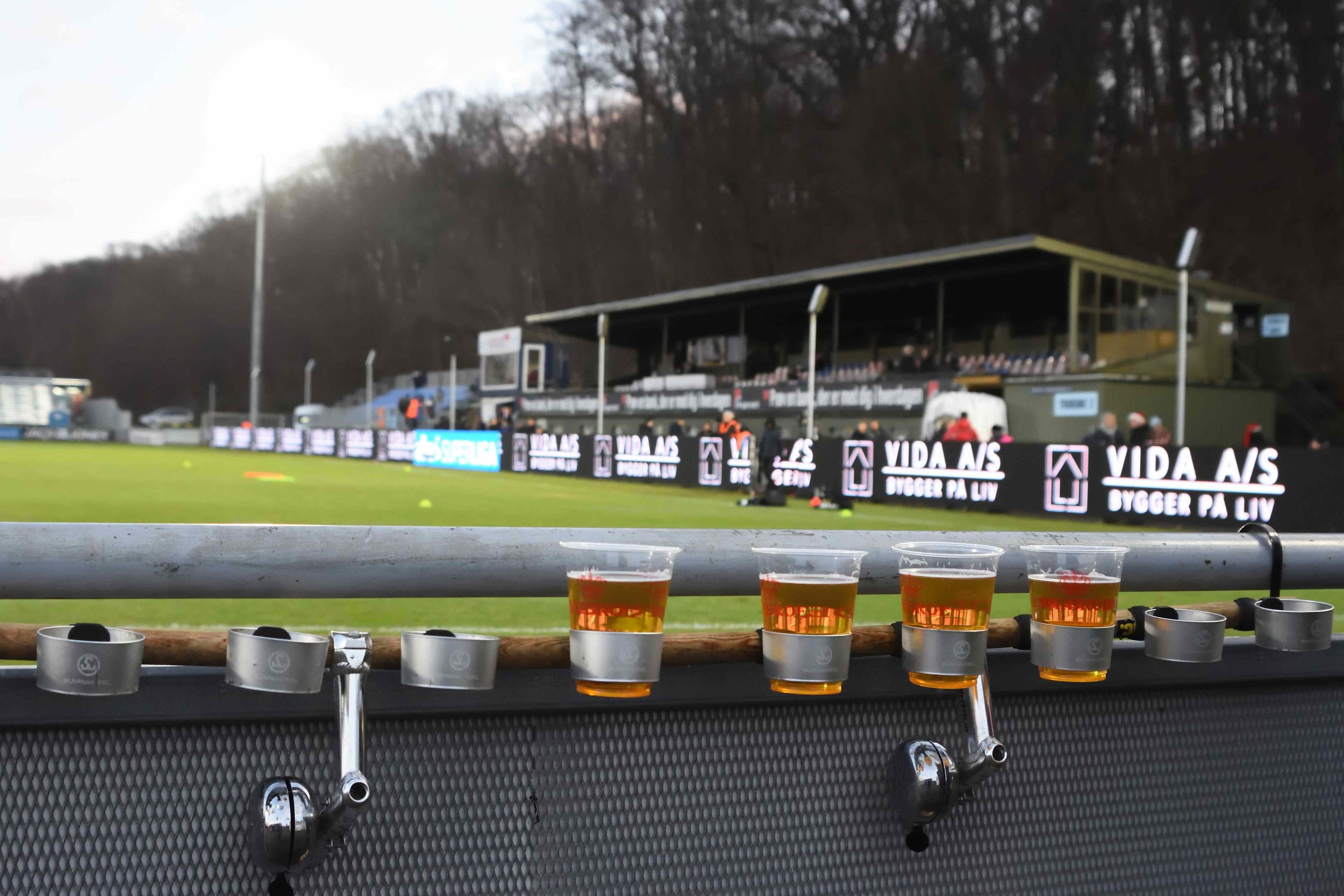 Beers in Denmark, diffeerent places have different attitude (55footballnations.com / Matt Walker)