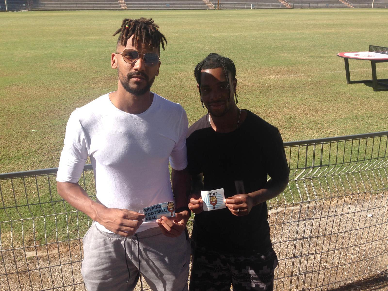 Tapoko and Plumain are keeping football real (Omri Tancman)