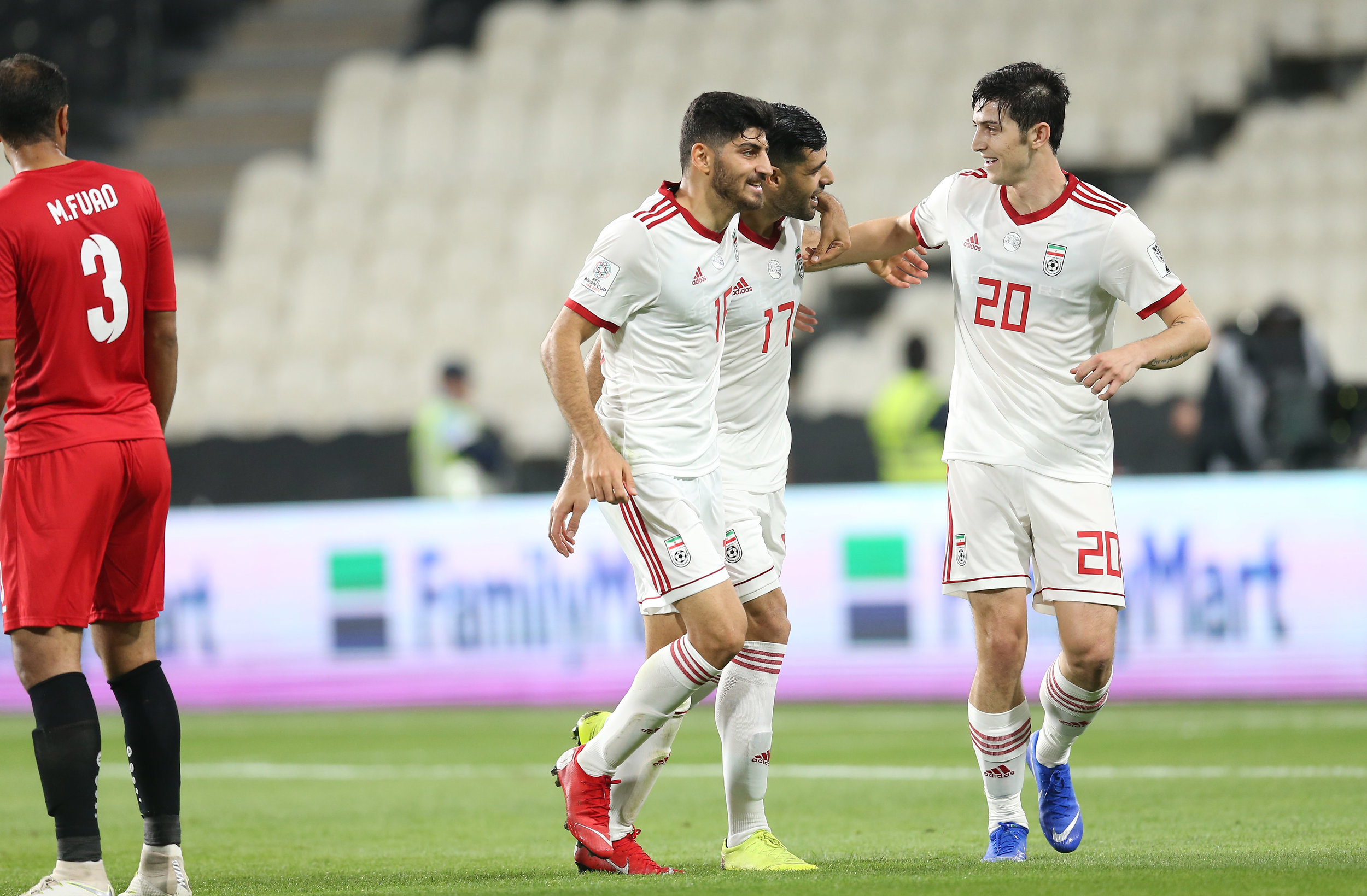 It took a while before Iran began their hunting journey (2019 Asian Football Confederation (AFC))