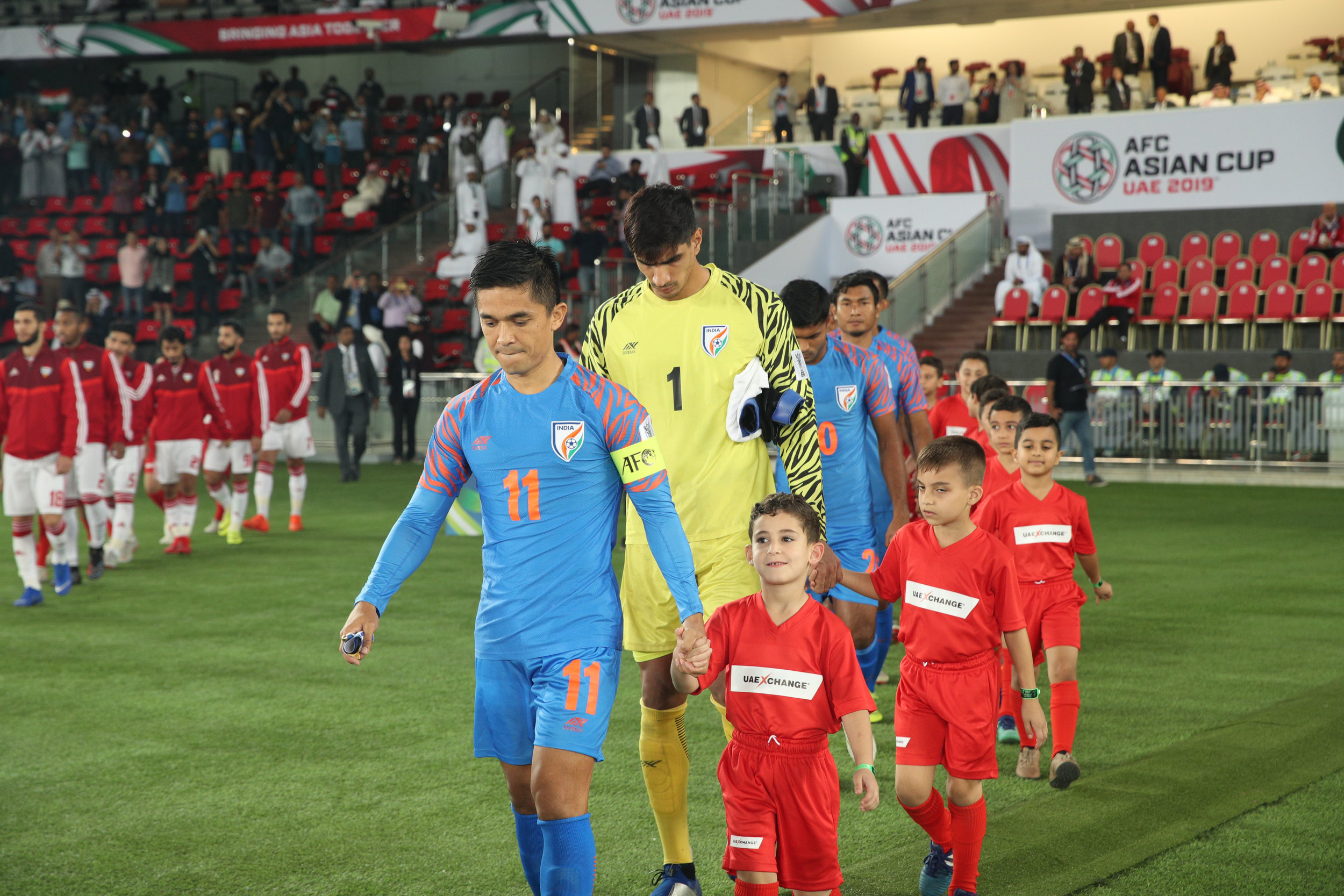 Sunil Chhetri, will he lead India to the round of 16? (Asian Football Confederation (AFC))