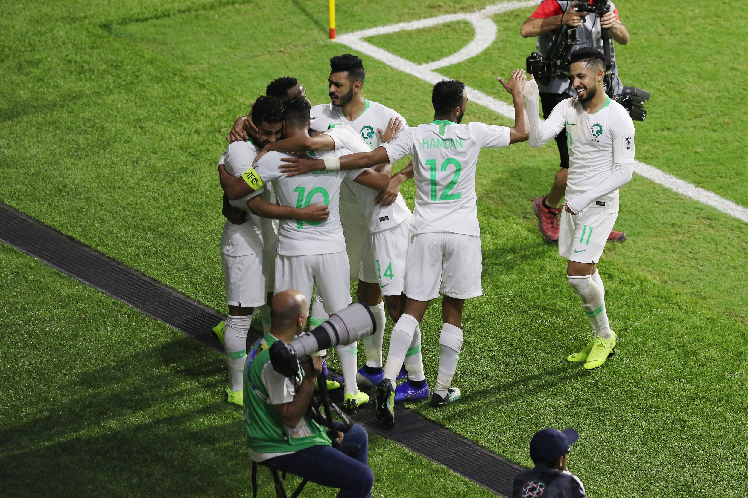 Saudi Arabia, would they prefer finishing first or second? (Asian Football Confederation (AFC))
