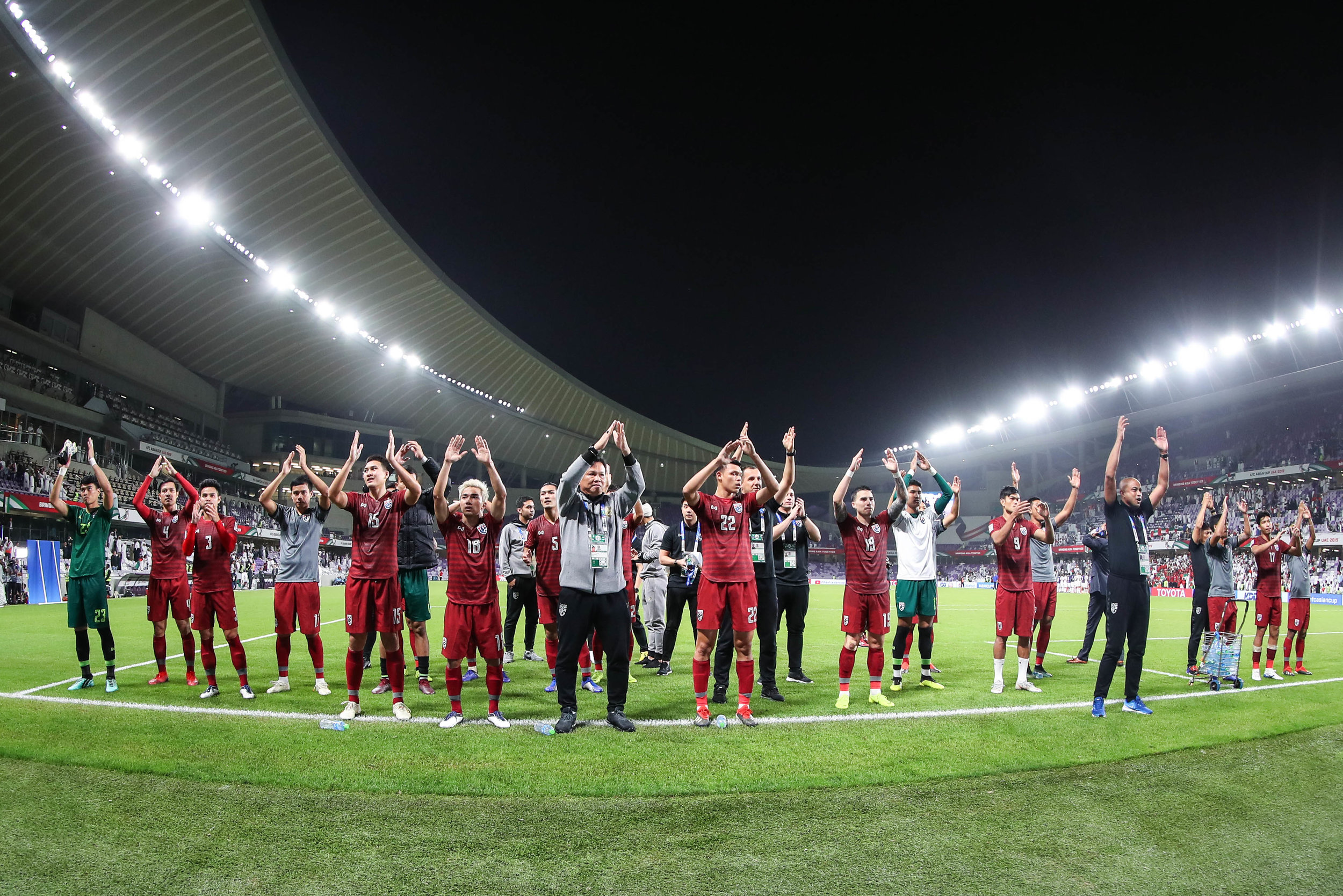 Thailand, surprised everyone on their way to the next stage (Asian Football Confederation (AFC))
