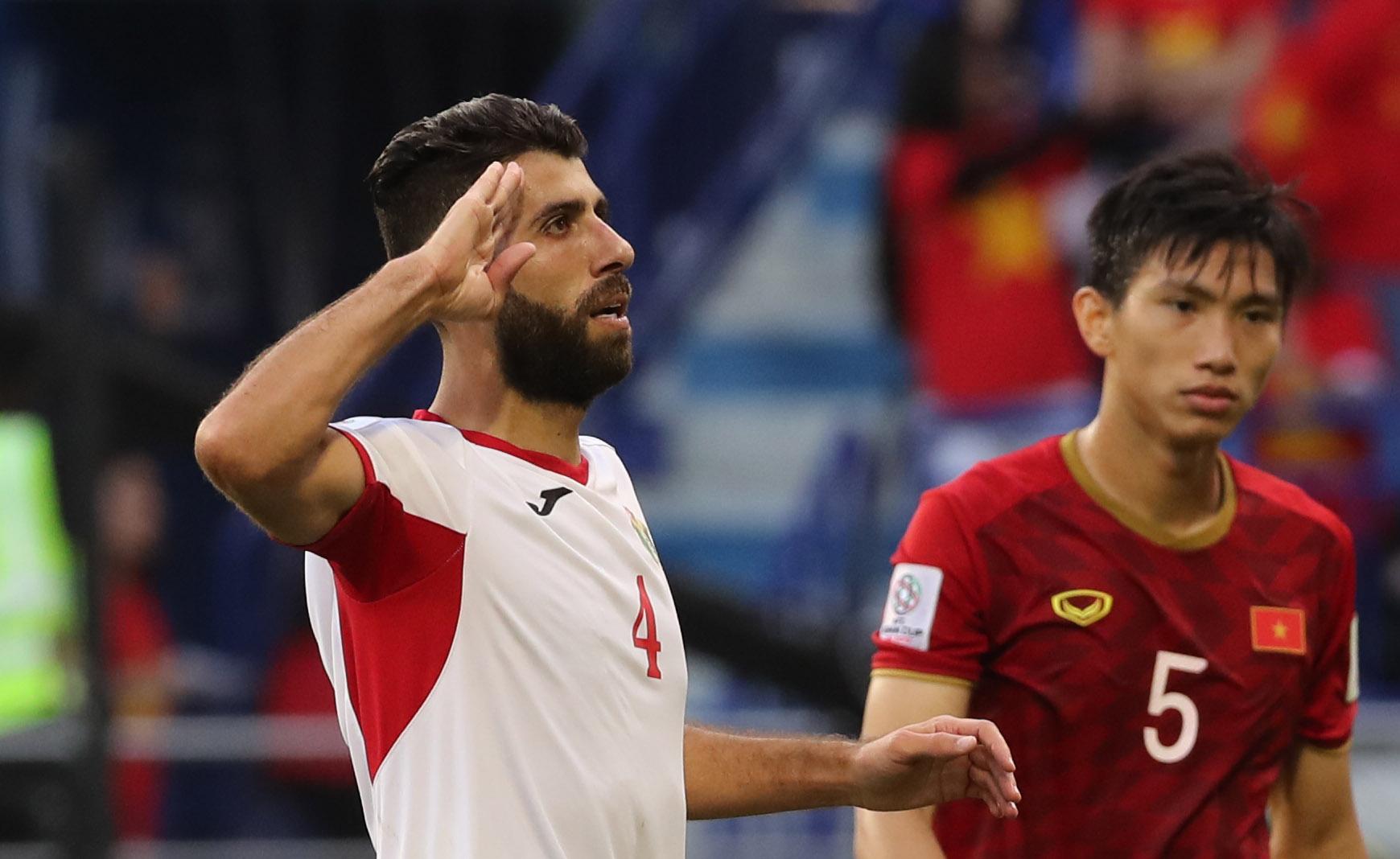 Baha Abdel-Rahman, scored the first goal for Jordan (Asian Football Confederation (AFC))