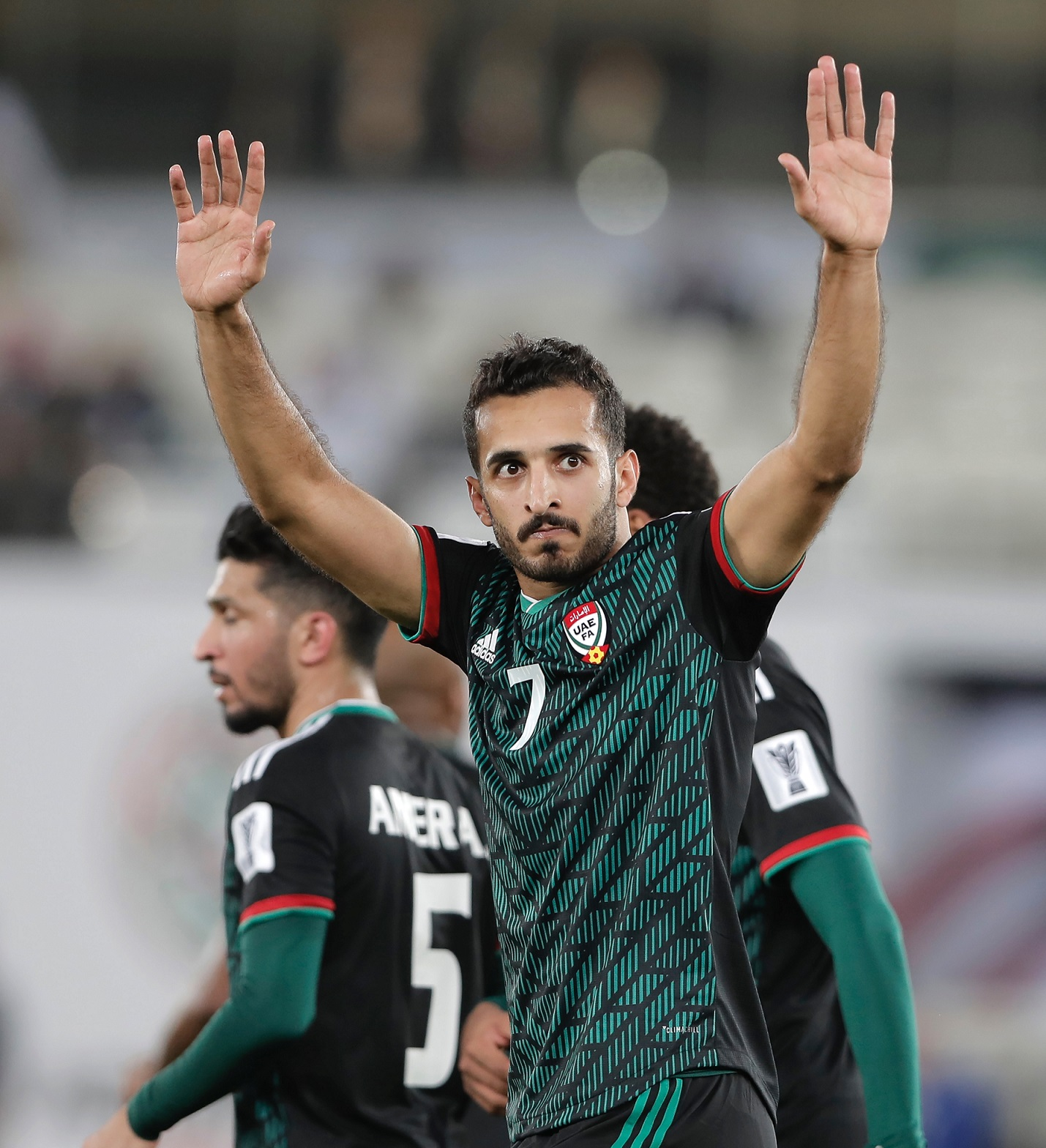 Ali Mabkhout, one of the top goal scorers of the Asian Cup history (Asian Football Confederation (AFC))