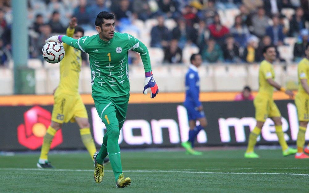 Beiranvand in Naft Tehran, the first team that gave him a chance as a pro (Varzesh)