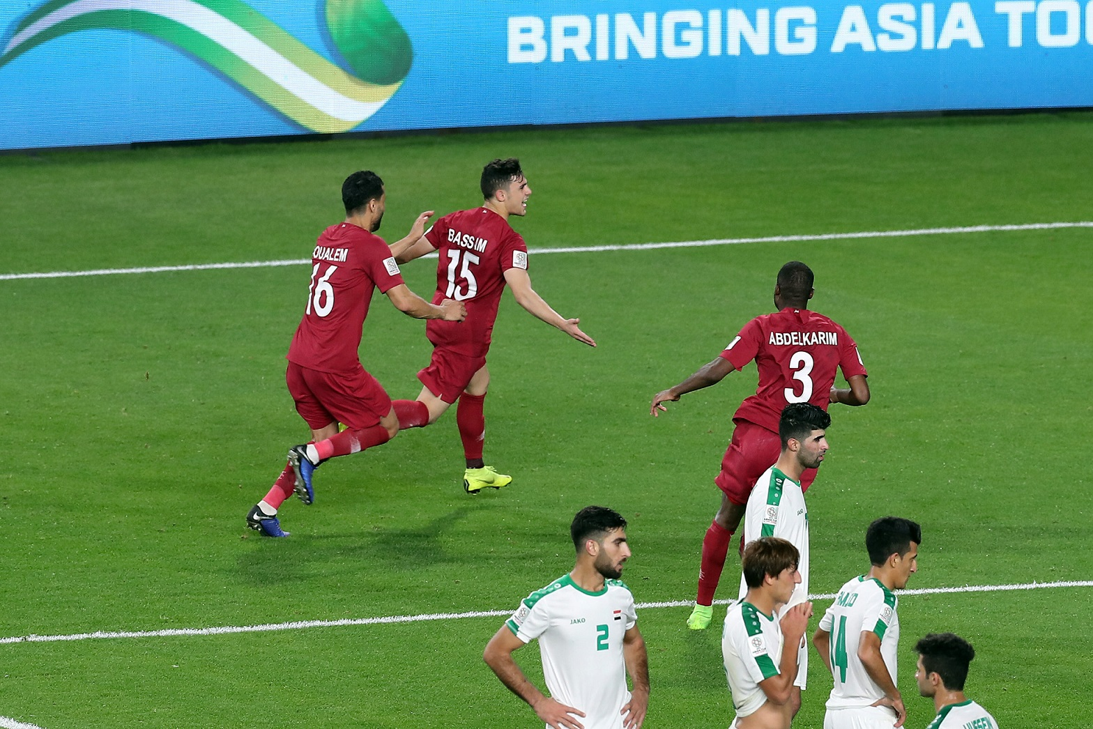 Bassam Al-Rawy, a direct free kick to the next stage (Asian Football Confederation (AFC))