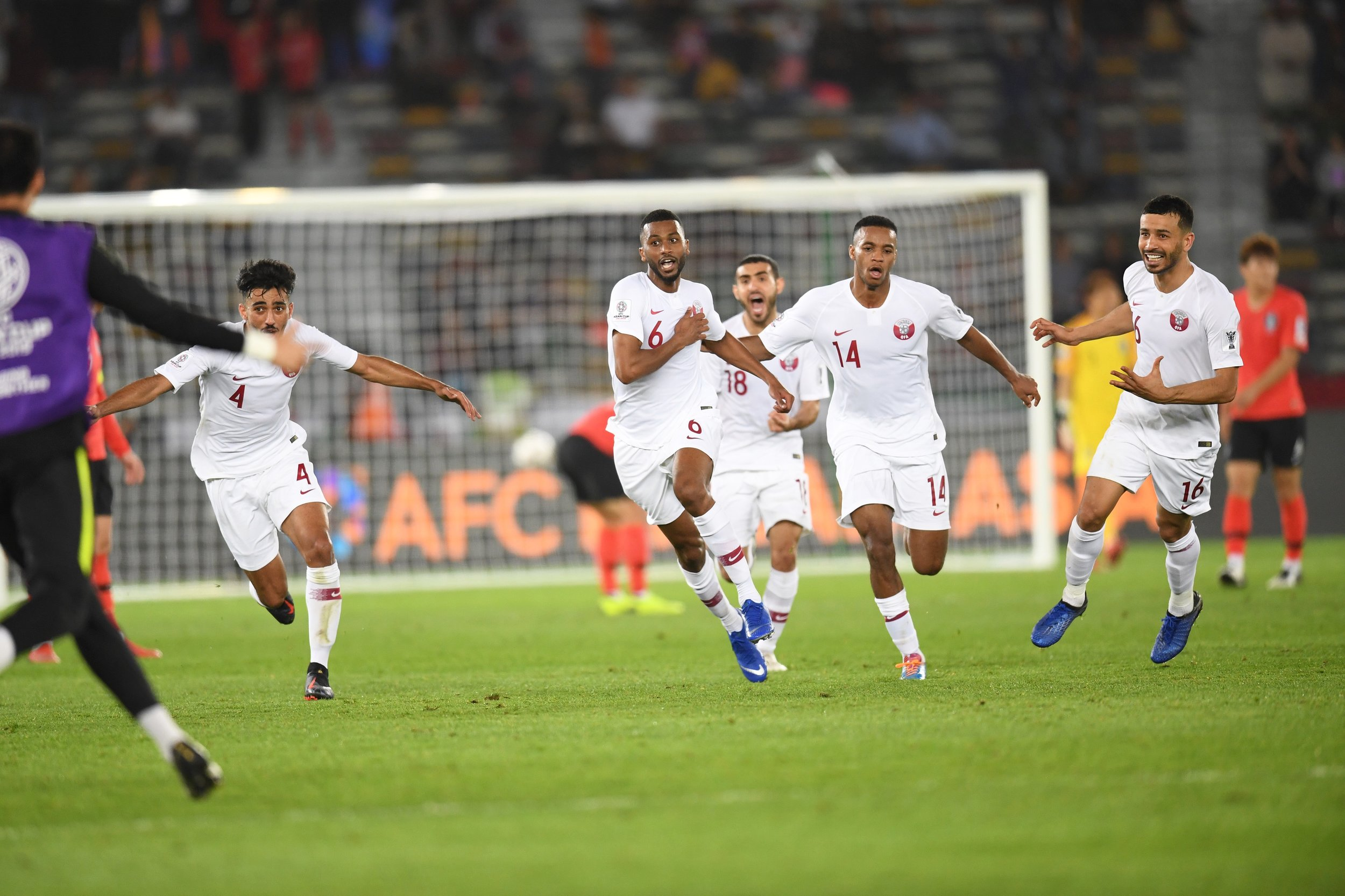 Qatar, reched the semi finals and made history (Asian Football Confederation (AFC))