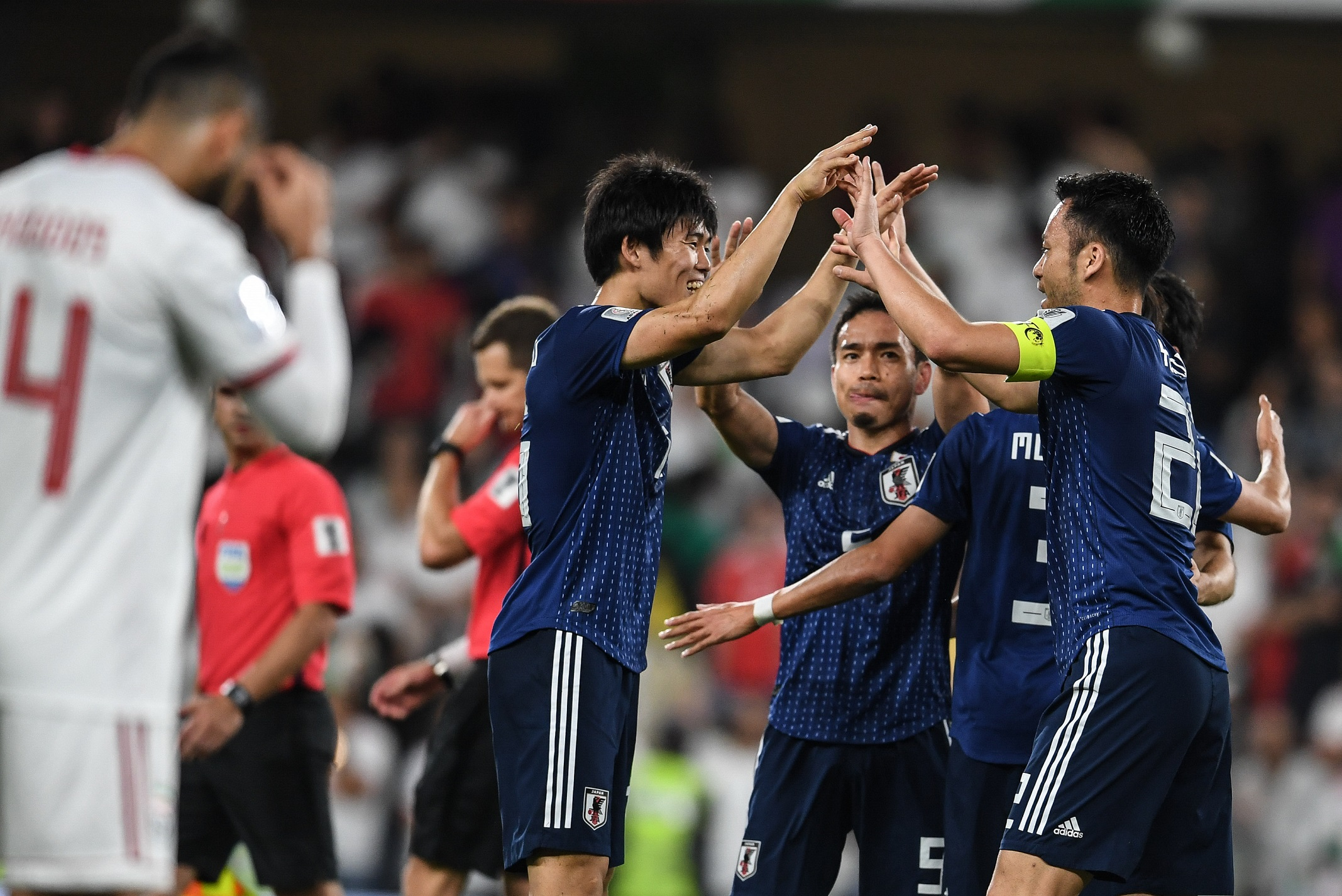 Japan, an easy win on their way to the Asian Cup final (Asian Football Confederation (AFC))