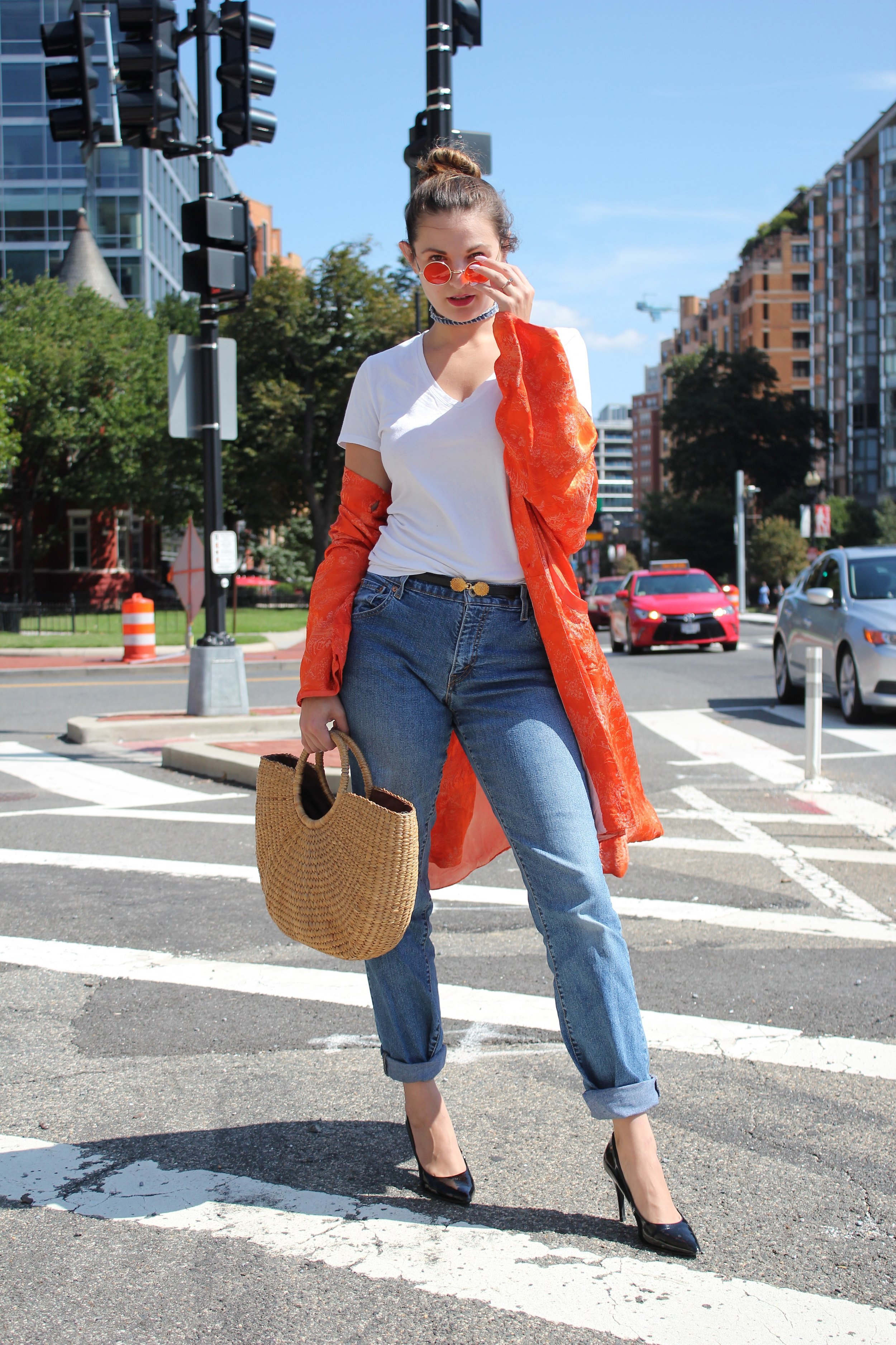 Fall Transitional Style Kimono Jacket