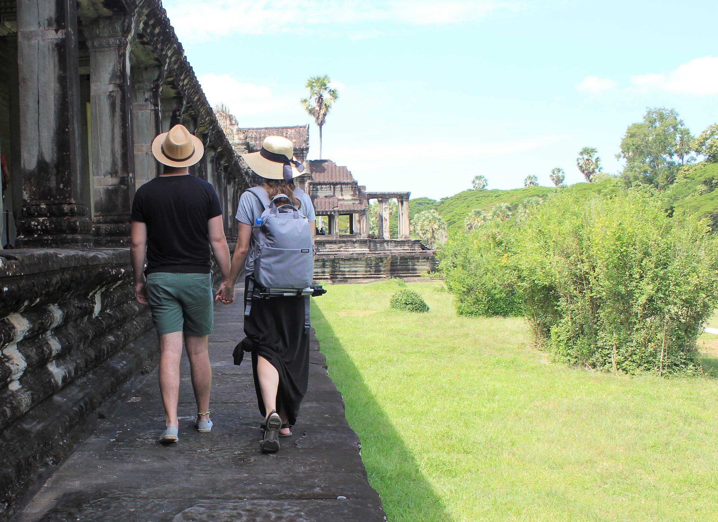 Honeymoon to Angkor Wat