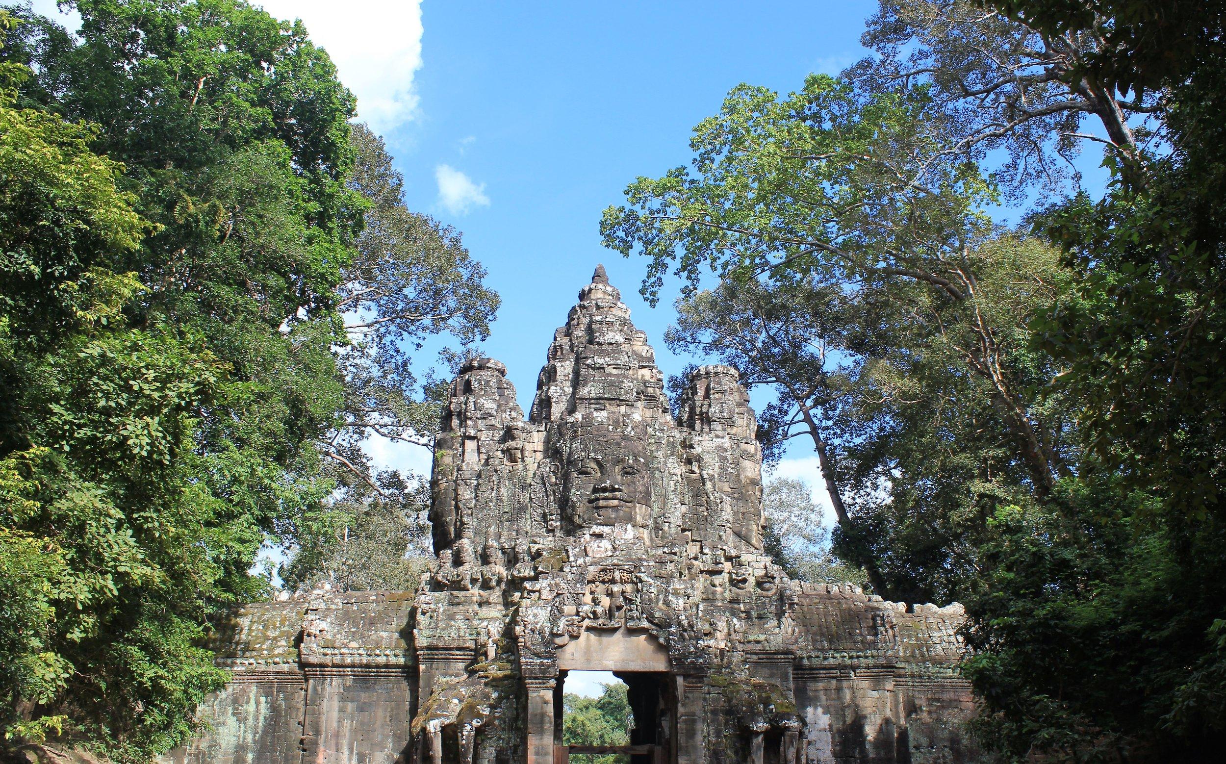 Entrance to Bayon Angkor Wat