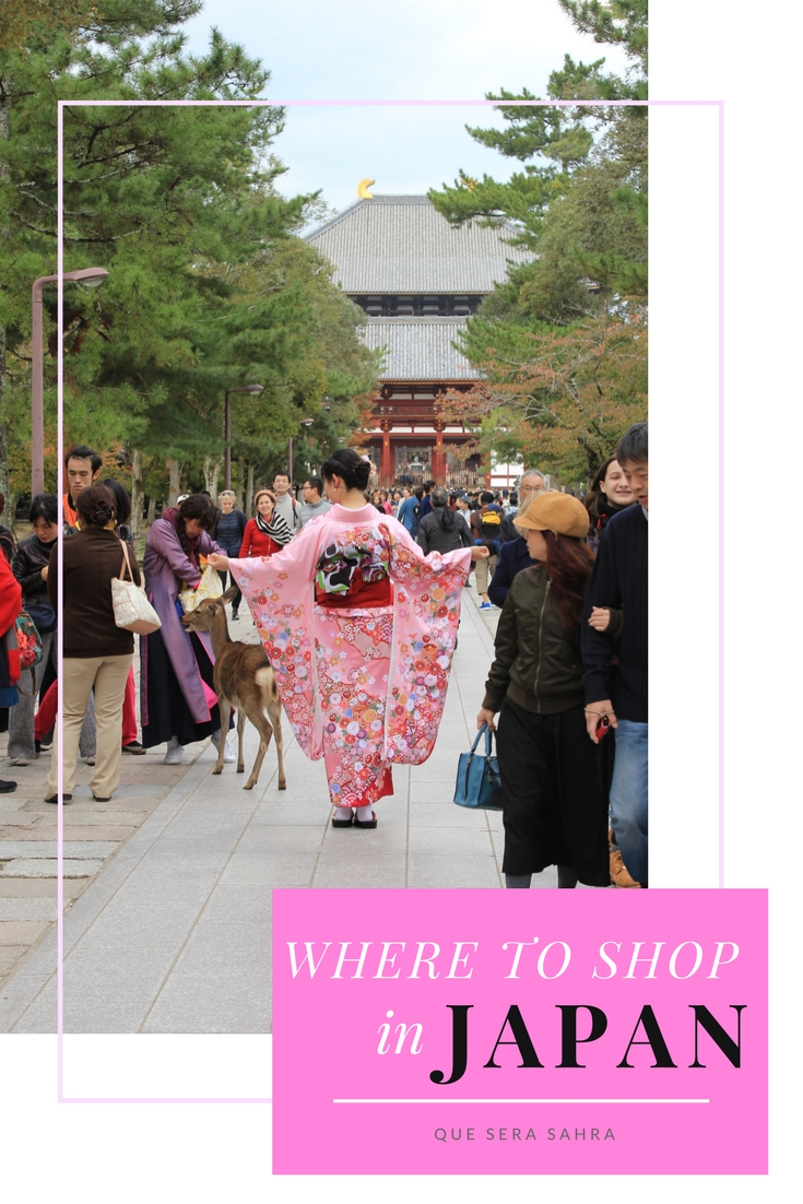 A Shopaholic's Guide to Where to Shop in Japan