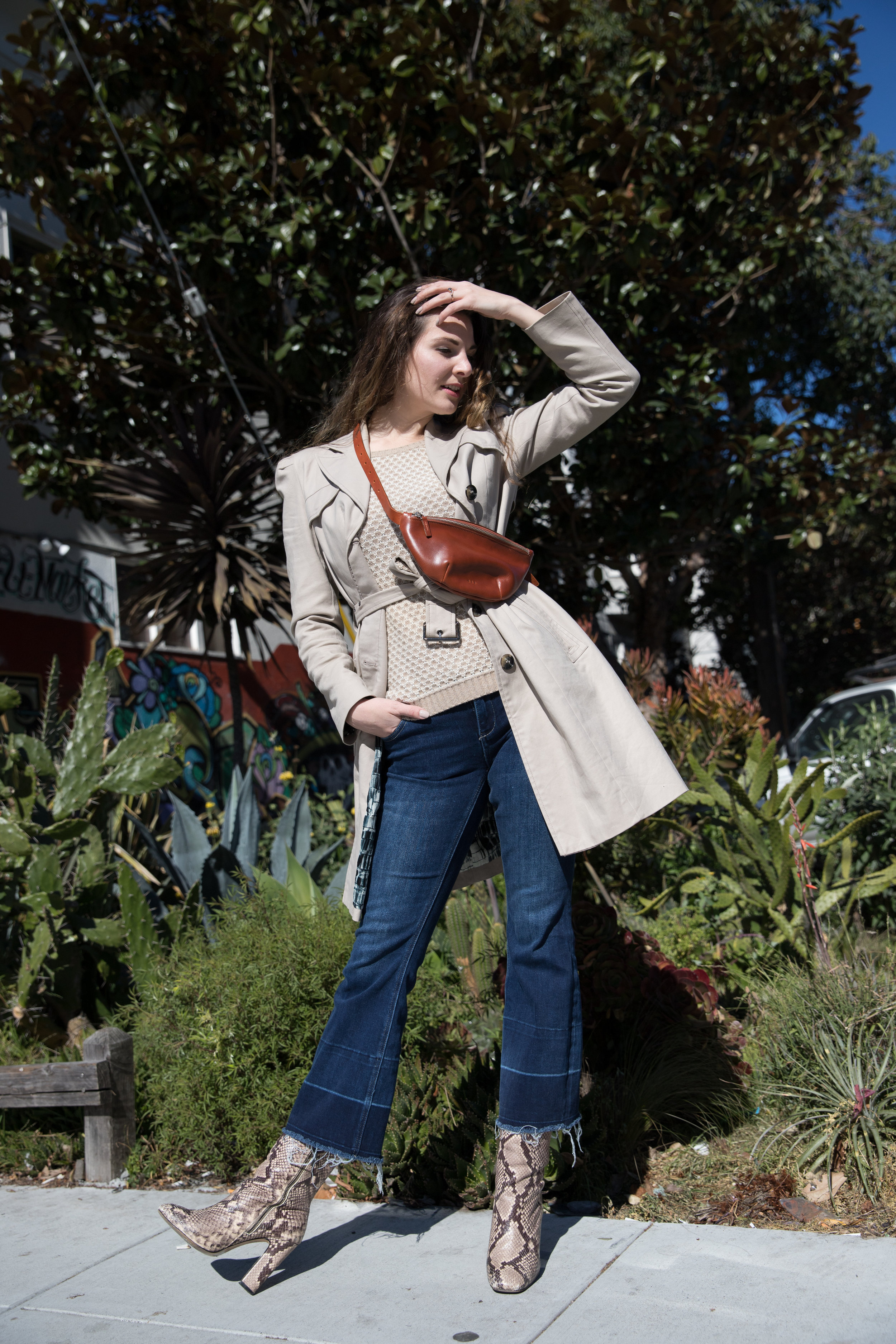 The Modern Fanny Pack - the Sling Bag