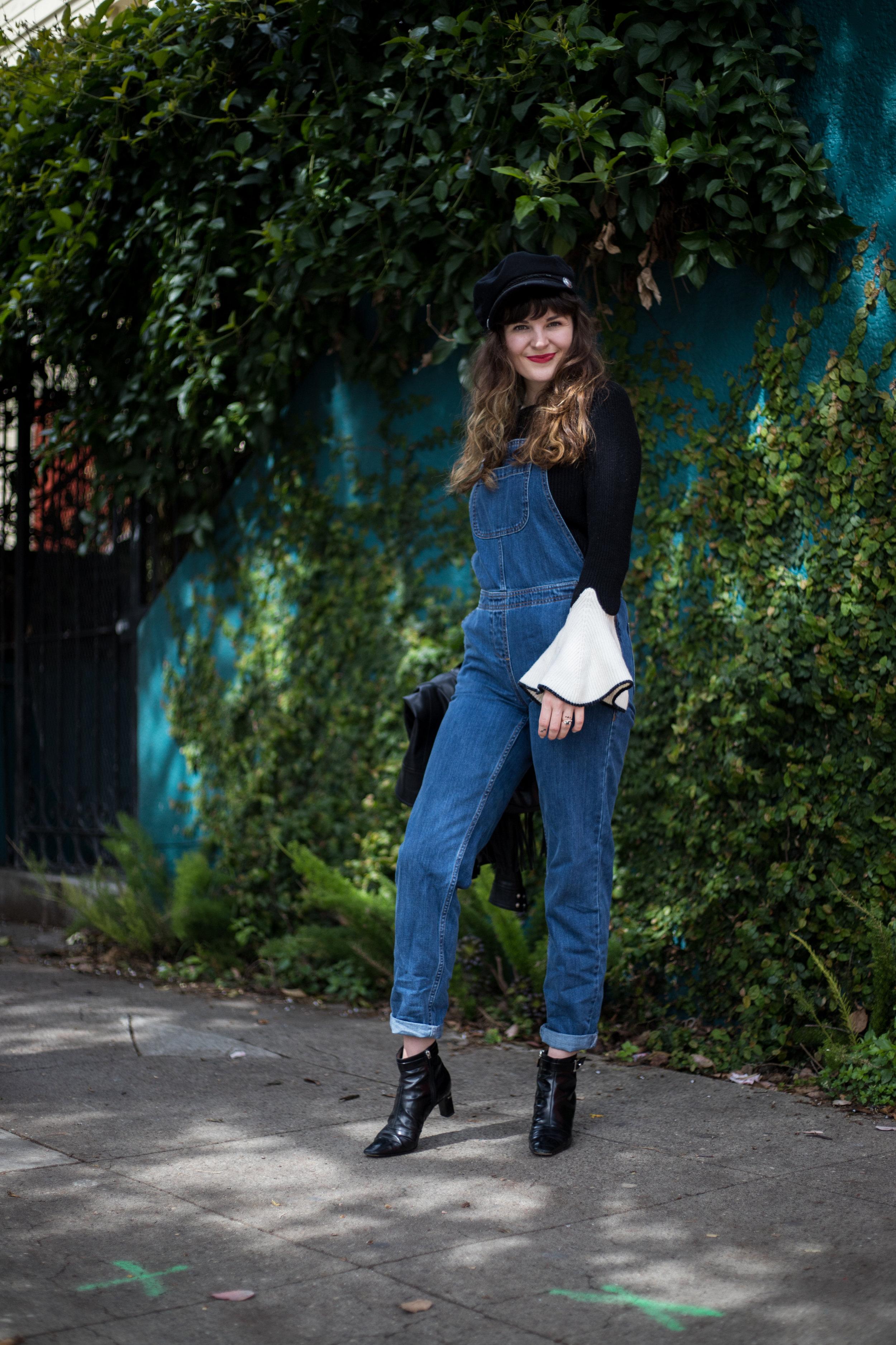 Spring Trend : Overalls on SF blogger Que Sera Sahra