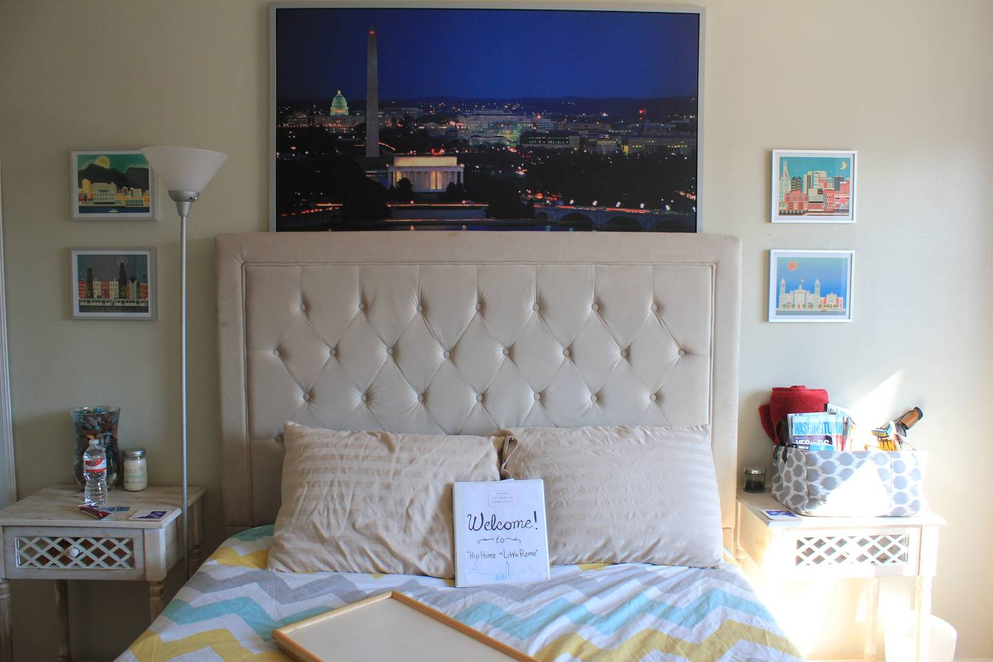 How to have a cozy guest room