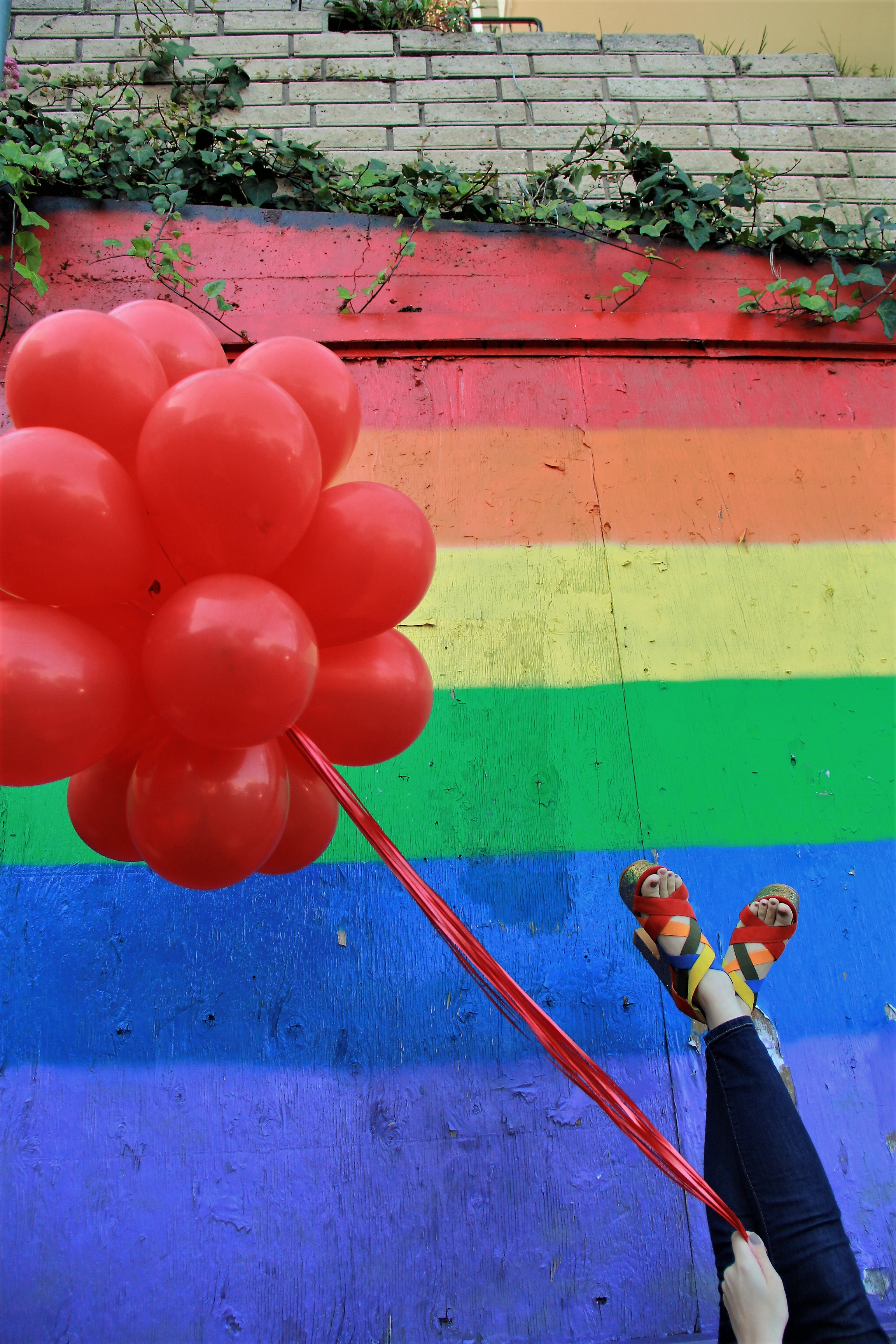 San Francisco's PRIDE weekend from an Ally