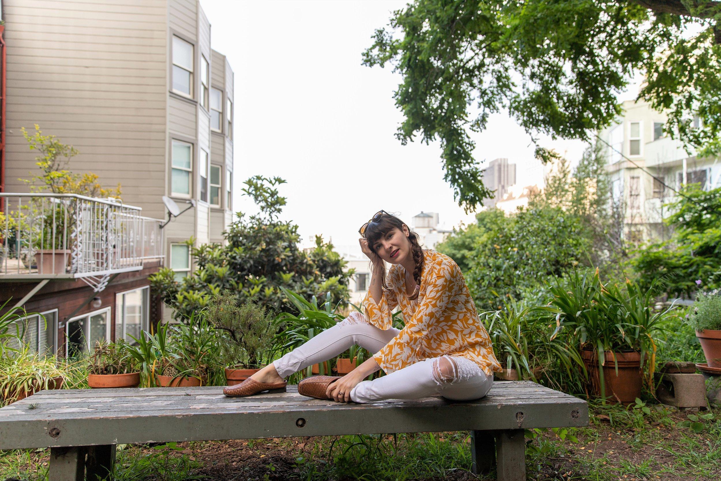 Summer Style in San Francisco via Que Sera Sahra
