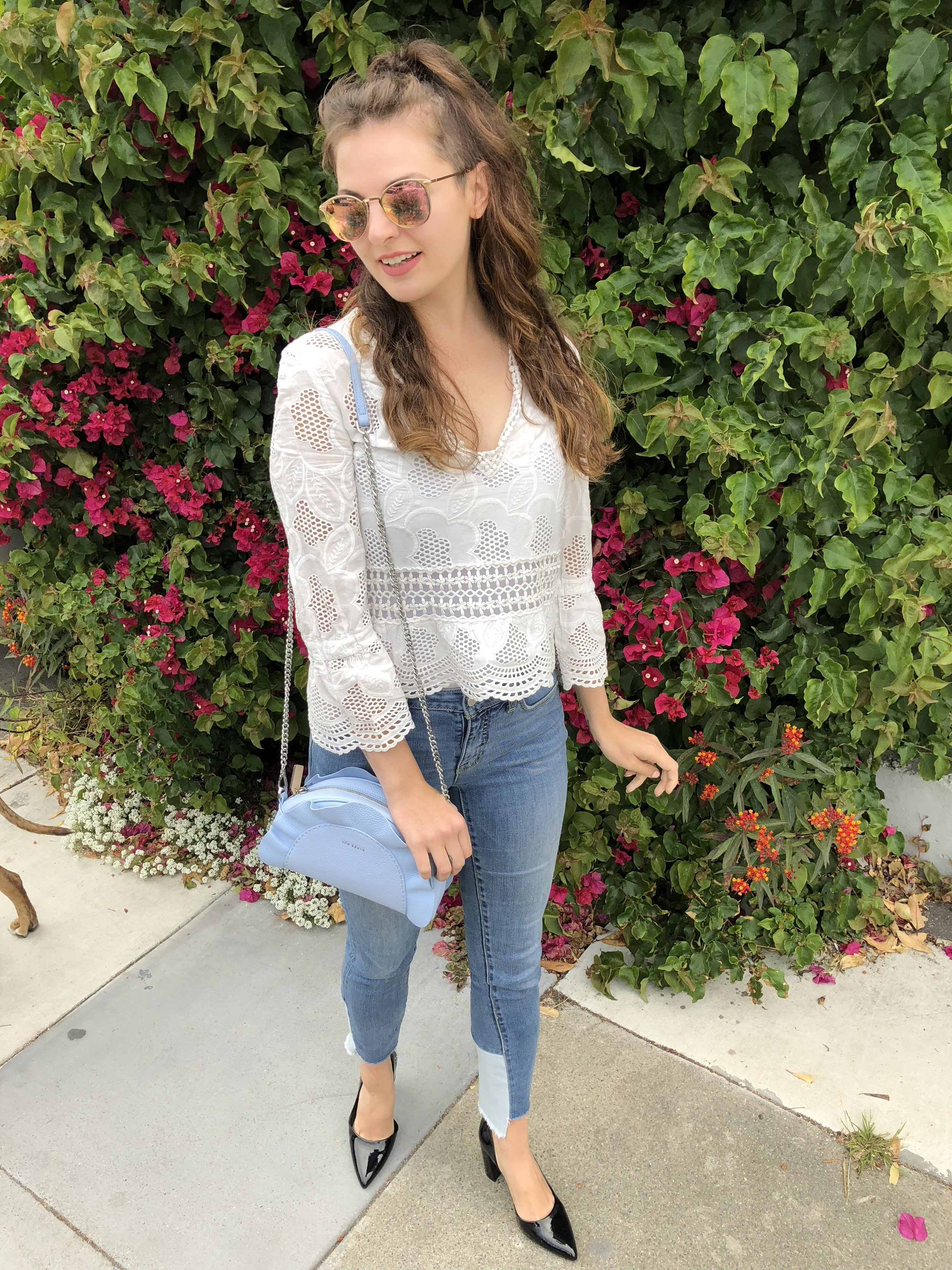 White Lace top for Summer Style