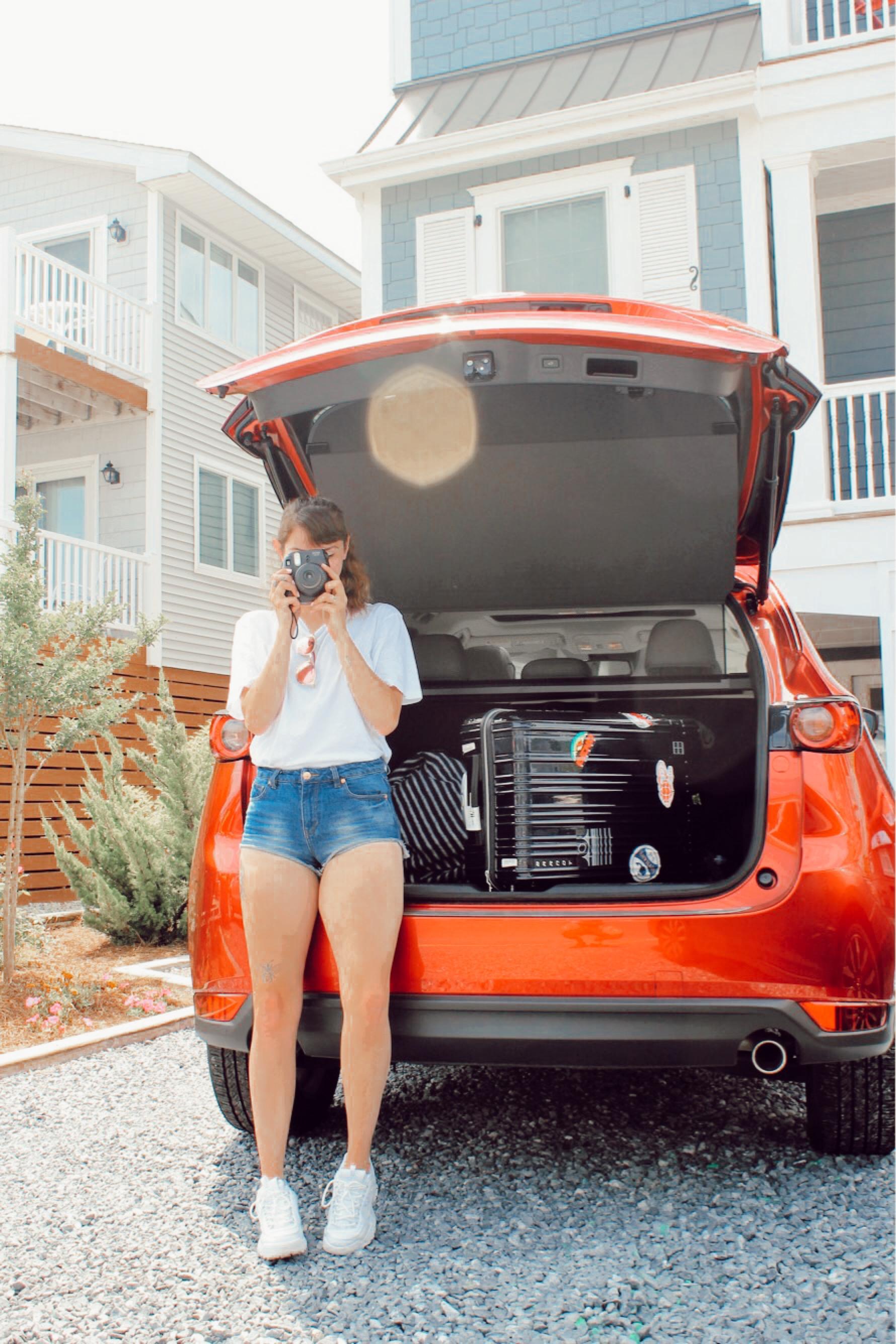 Beach Trip with the NEW super roomy Mazda CX-5
