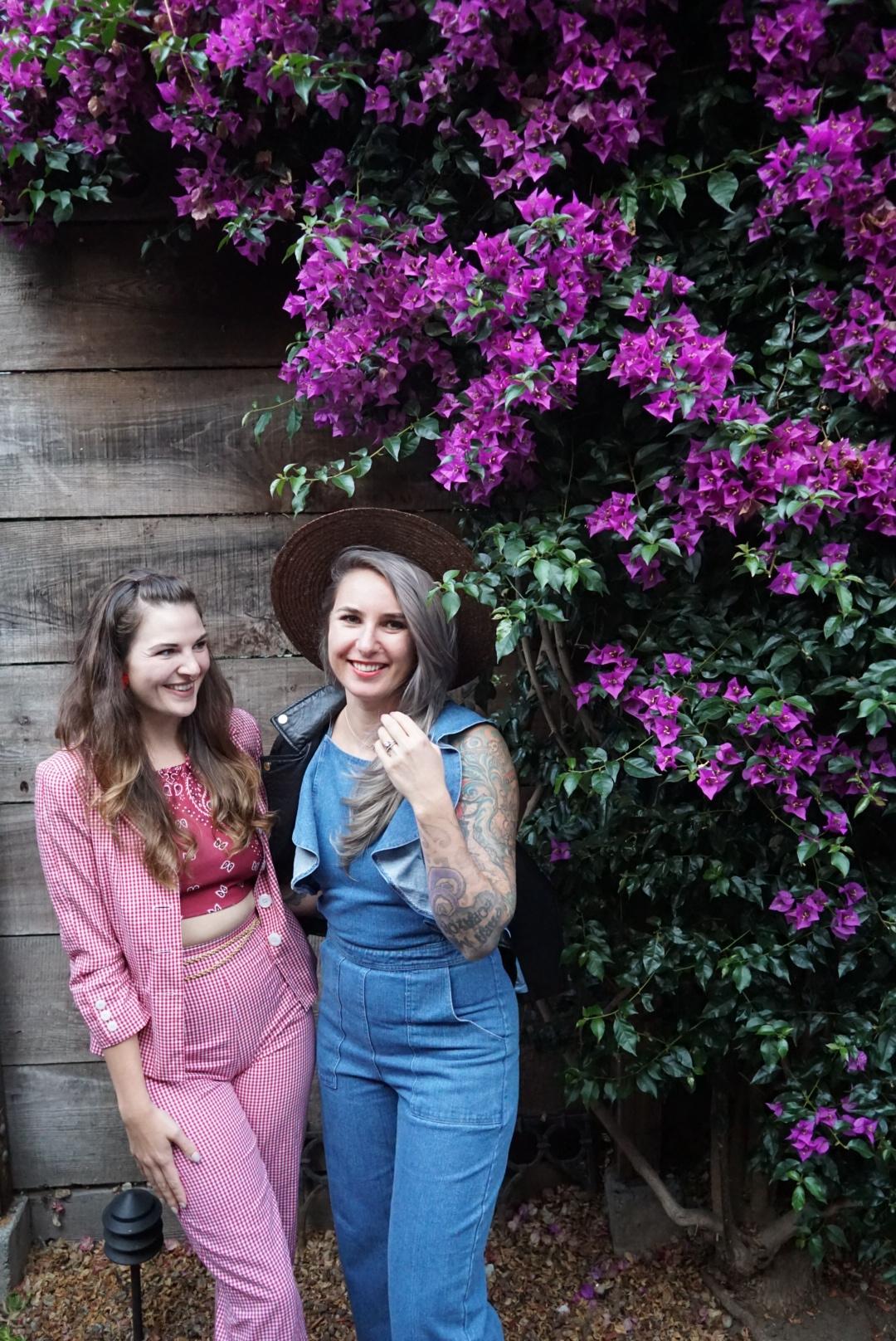 SF Style Bloggers Que Sera Sahra and Julia O Test