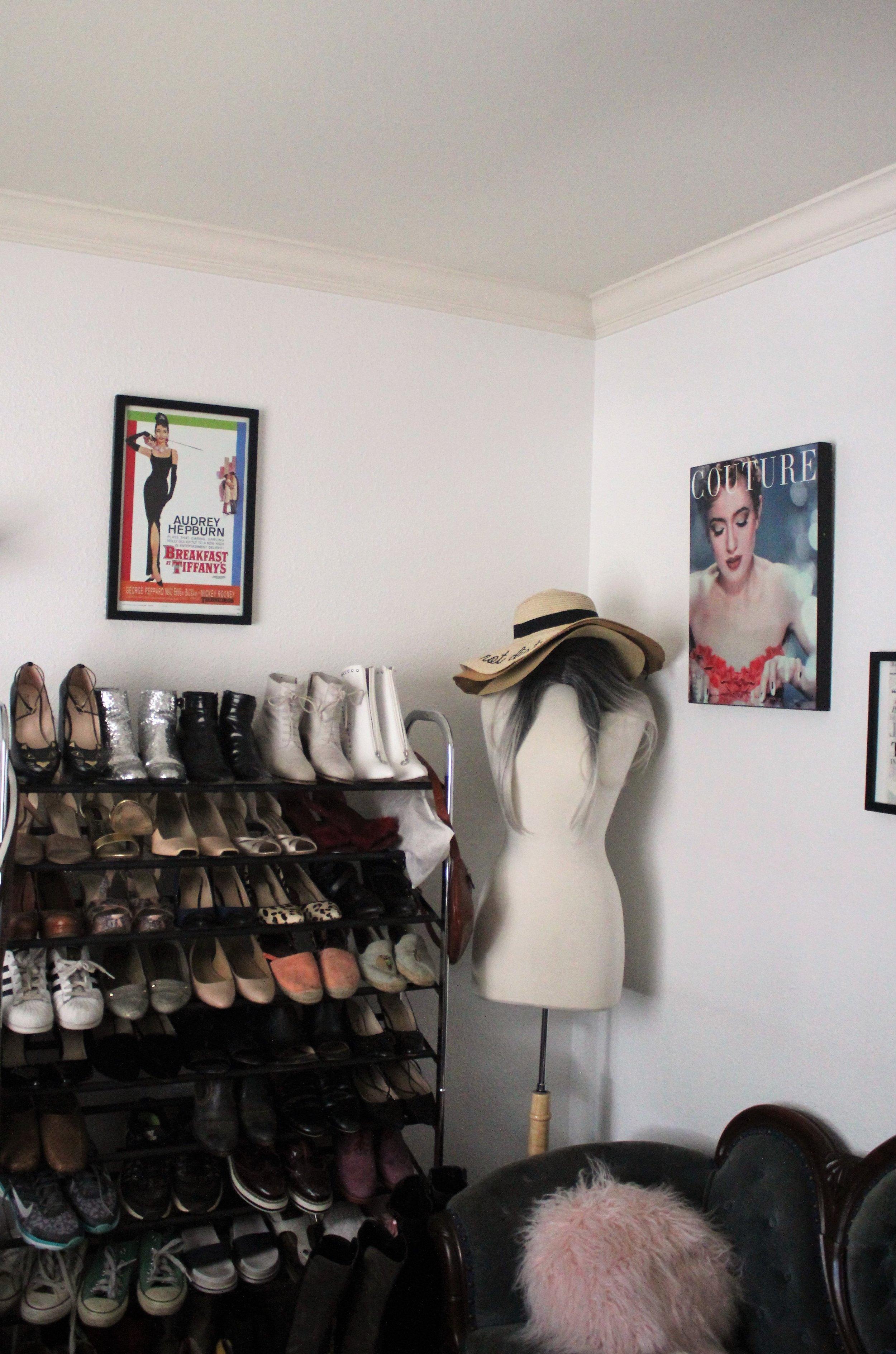 Blogger Home Office Closet of Que Sera Sahra