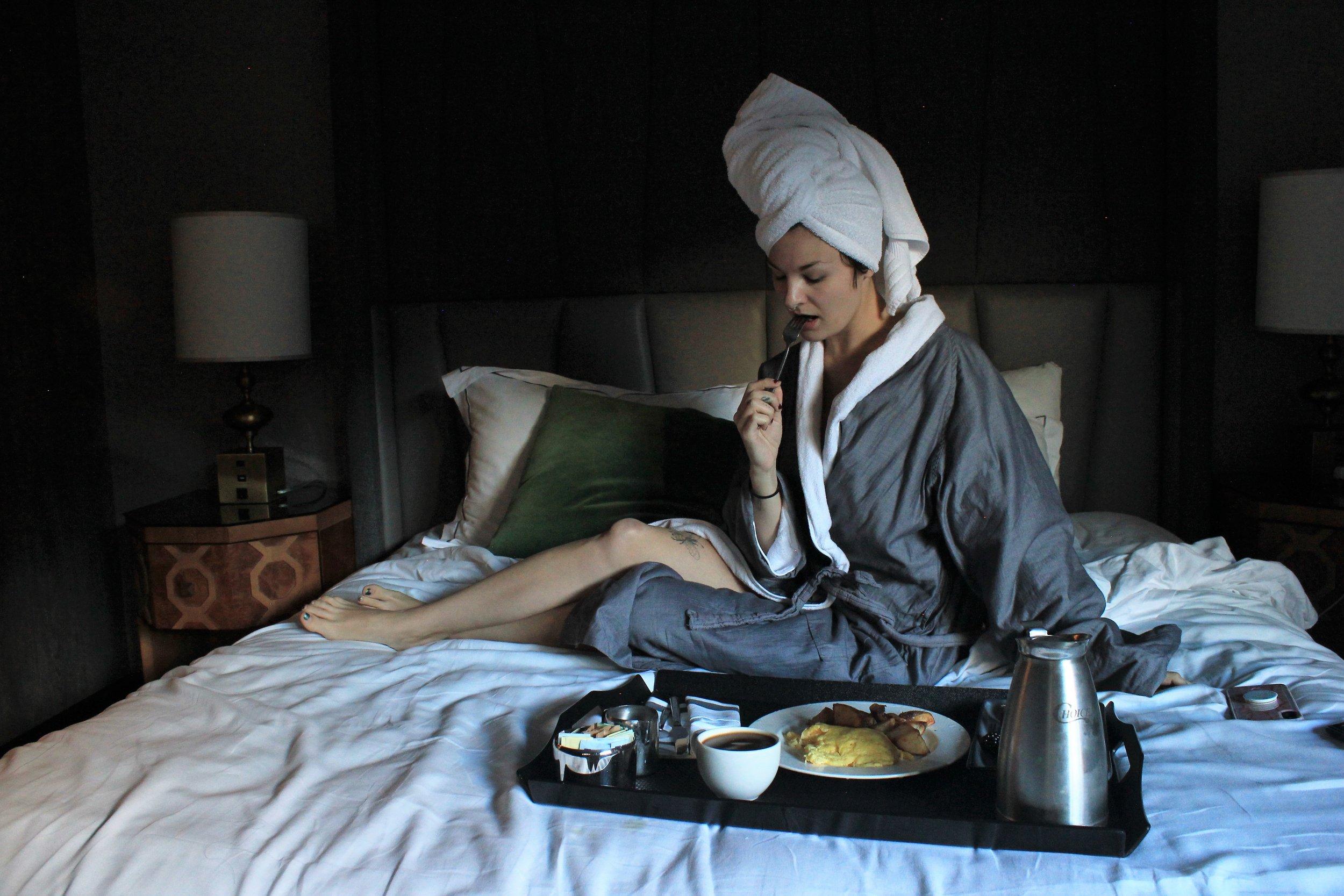 Breakfast in Bed - Kimpton's Mason and Rook in Washington DC