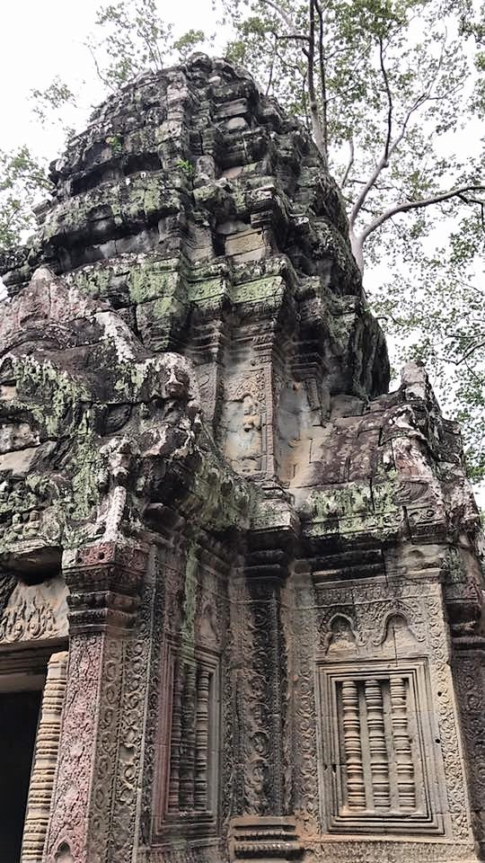 Ruins near Angkor Wat in Siem Reap, Cambodia