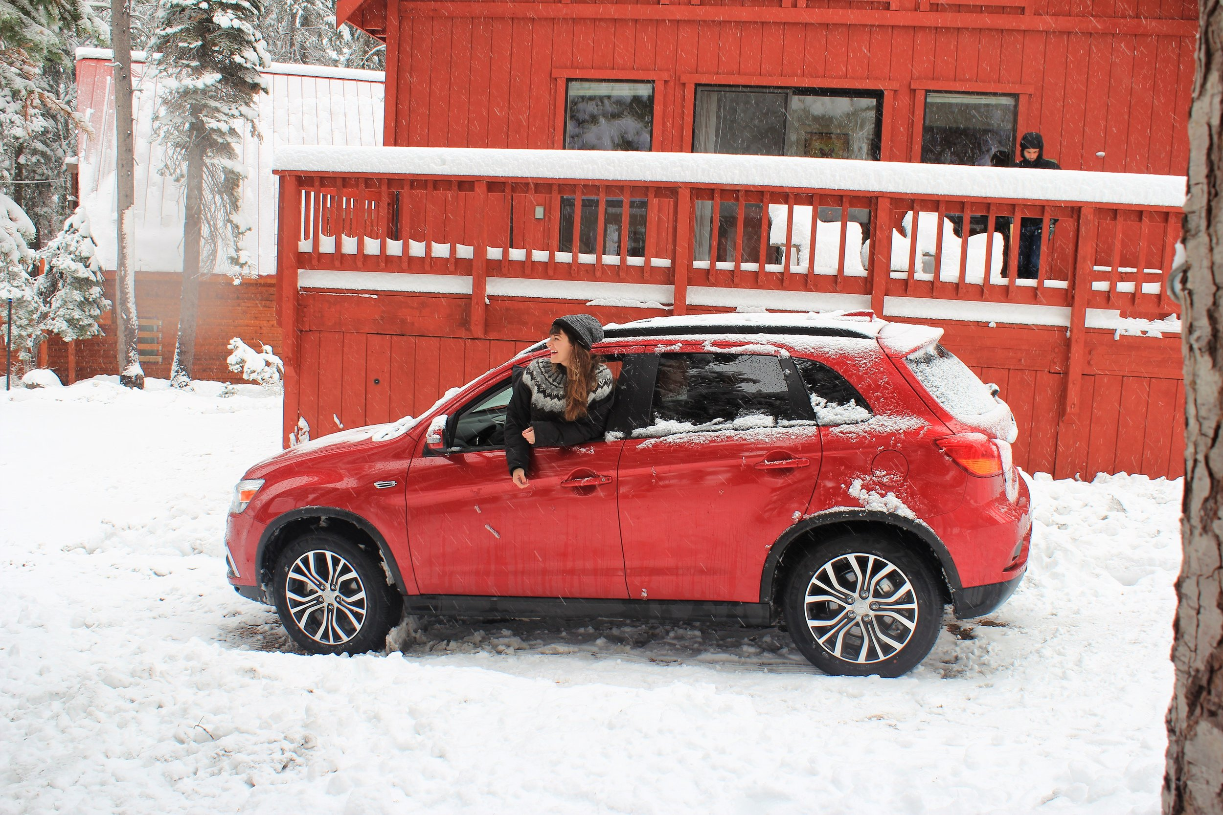Mitsubishi Outlander Sport Roadtrip