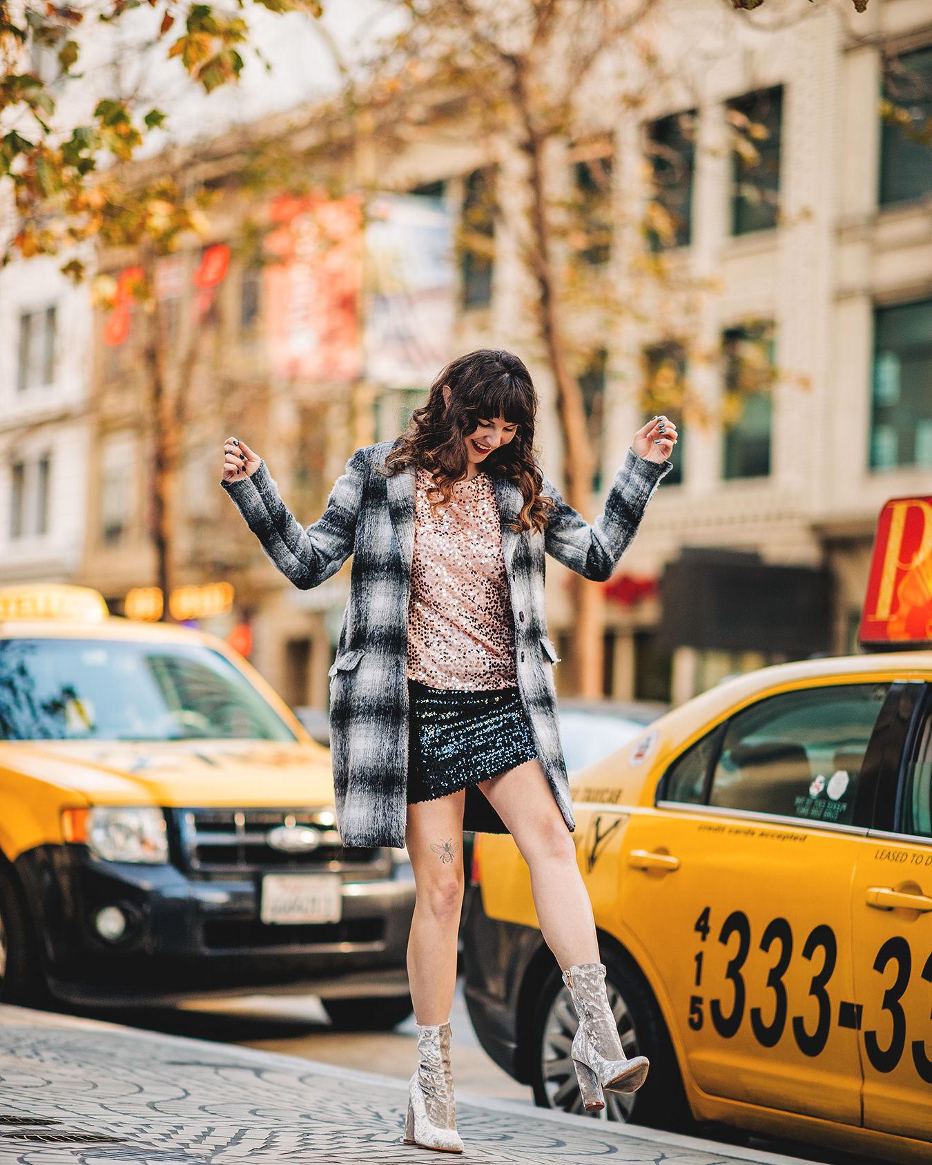 a NYer in California - style blogger Que Sera Sahra