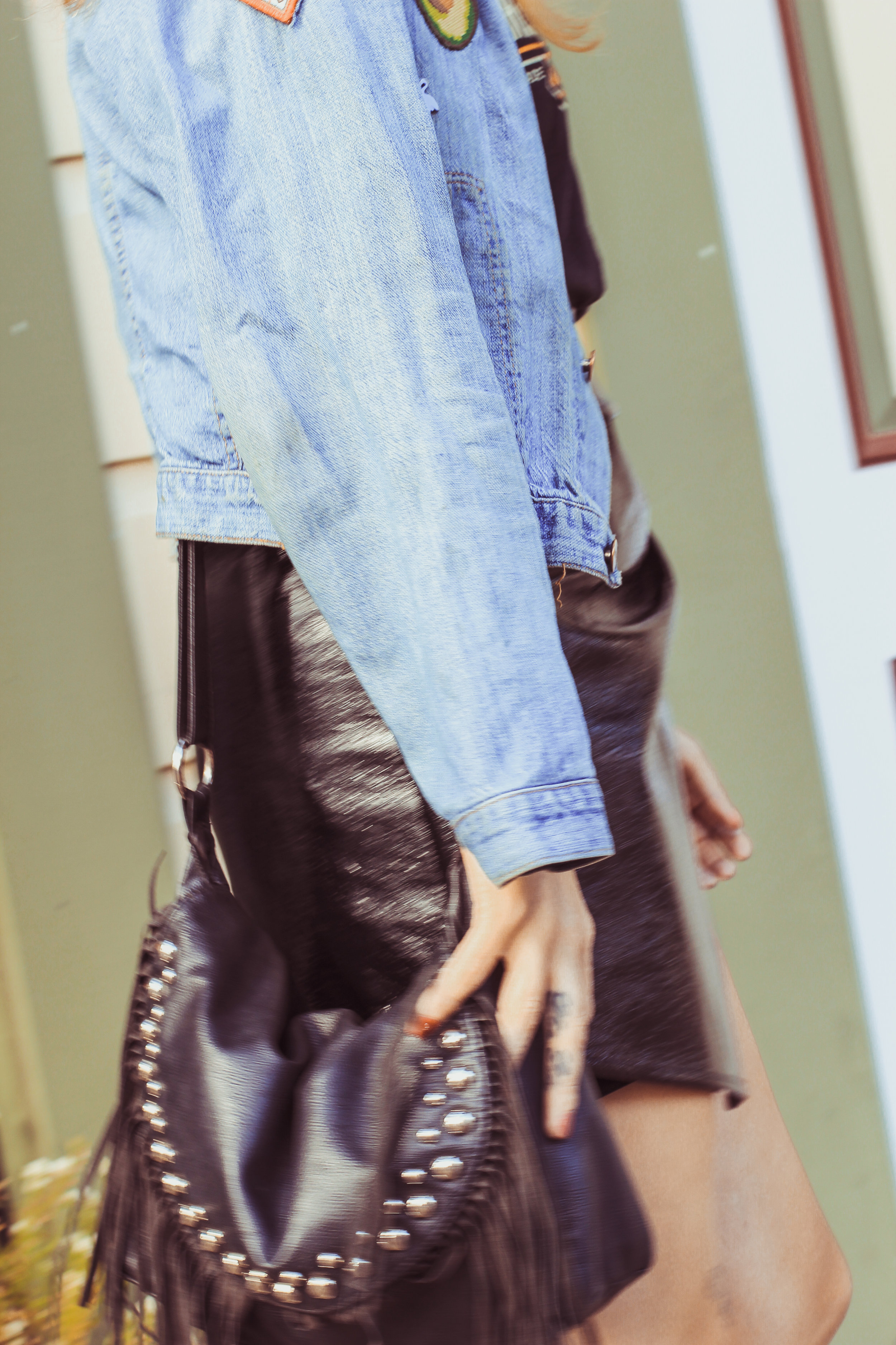 Edgy Punk outfit Details
