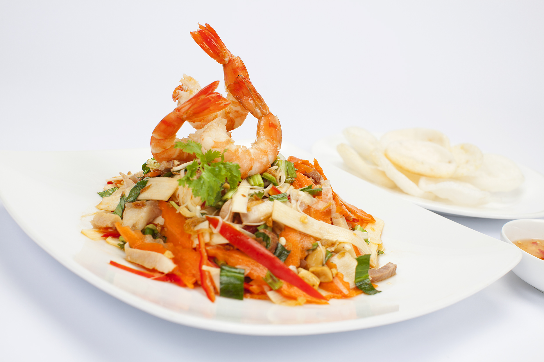 Vietnamese Food - Lotus Stem Salad - Recipe