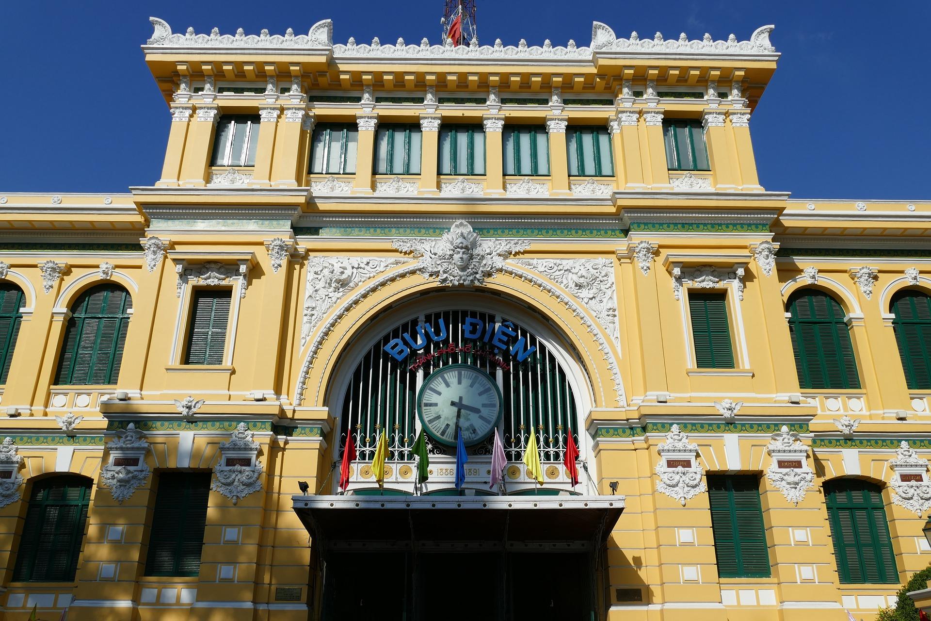 Saigon - Ho Chi Minh City - City Tour - Post Office.jpg