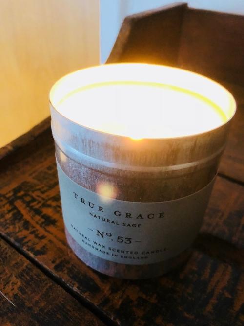 1.  True Sage 'Natural Sage' Candle